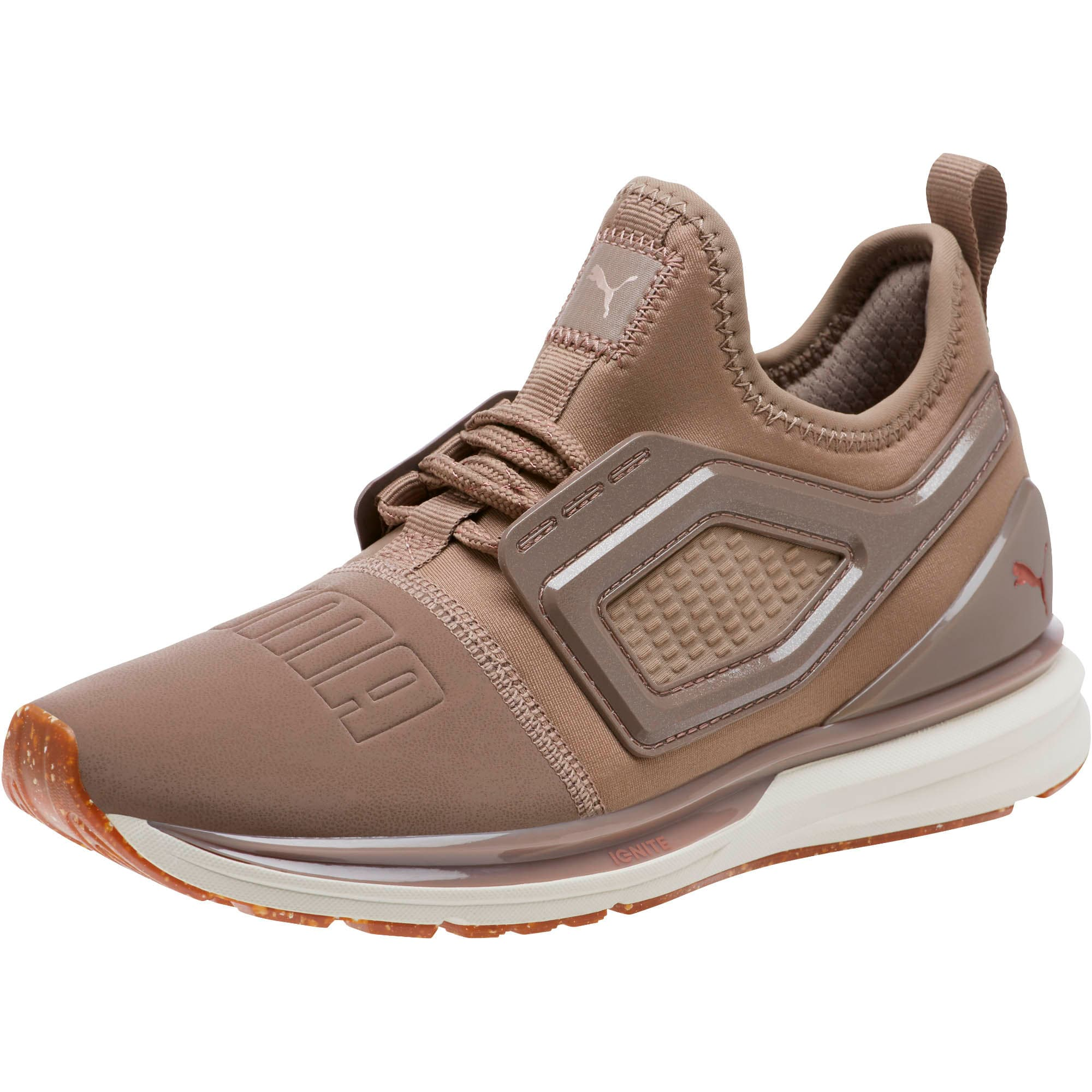 Thumbnail 1 of Limitless 2 Crafted Women's Sneakers, Taupe Gray-Rose Gold, medium