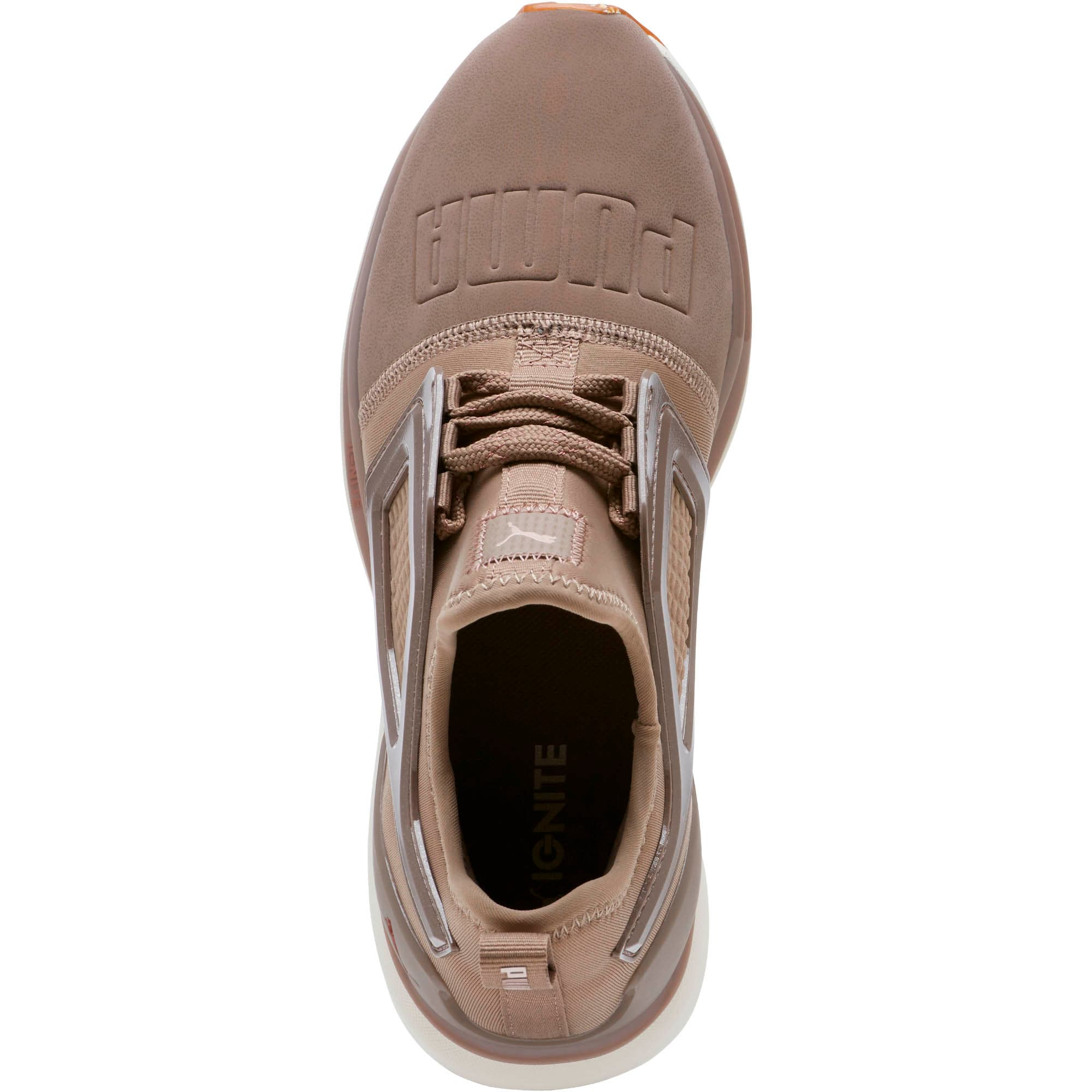 Thumbnail 5 of Limitless 2 Crafted Women's Sneakers, Taupe Gray-Rose Gold, medium