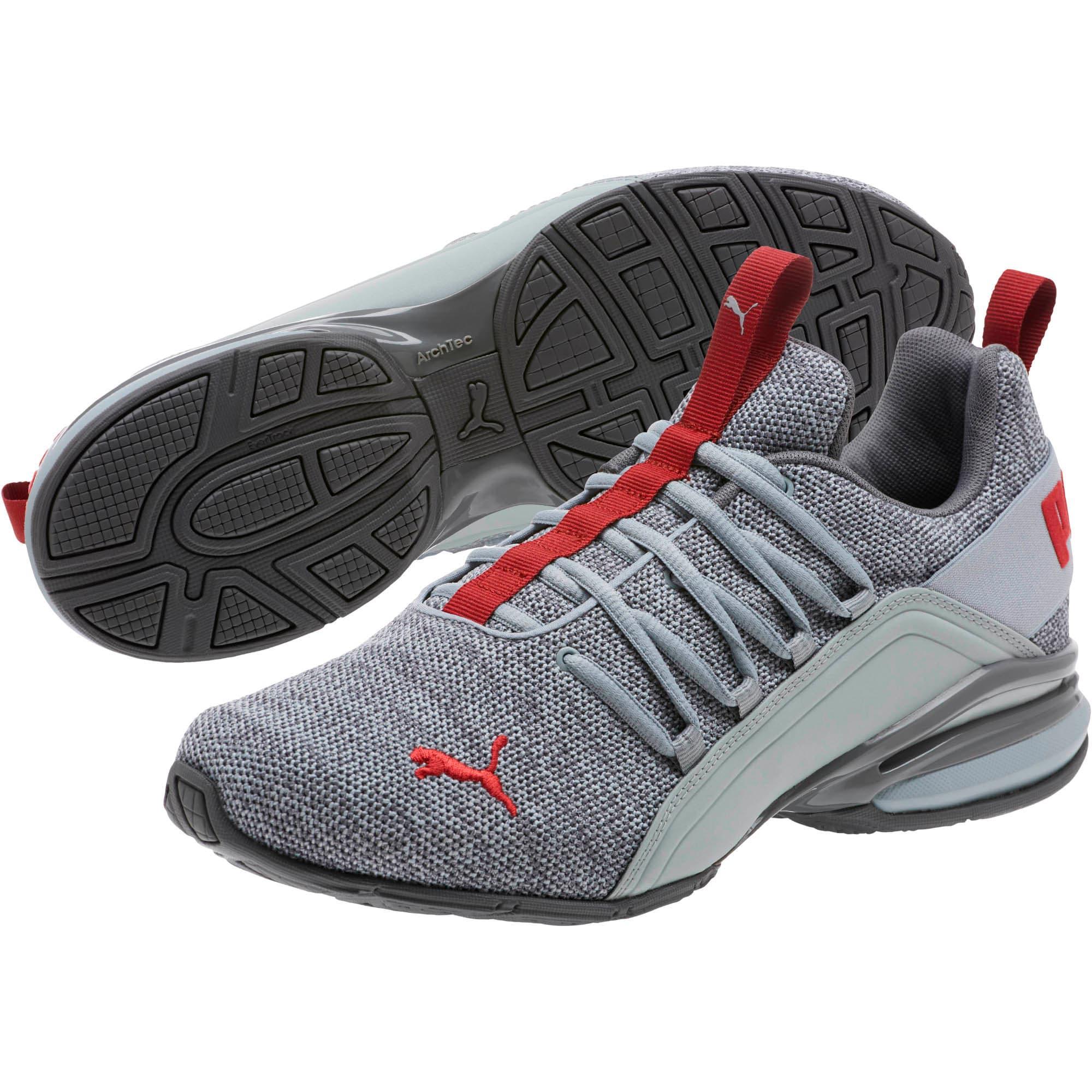 Thumbnail 2 of Axelion Men's Training Shoes, Quarry-QUIET SHADE-Red, medium
