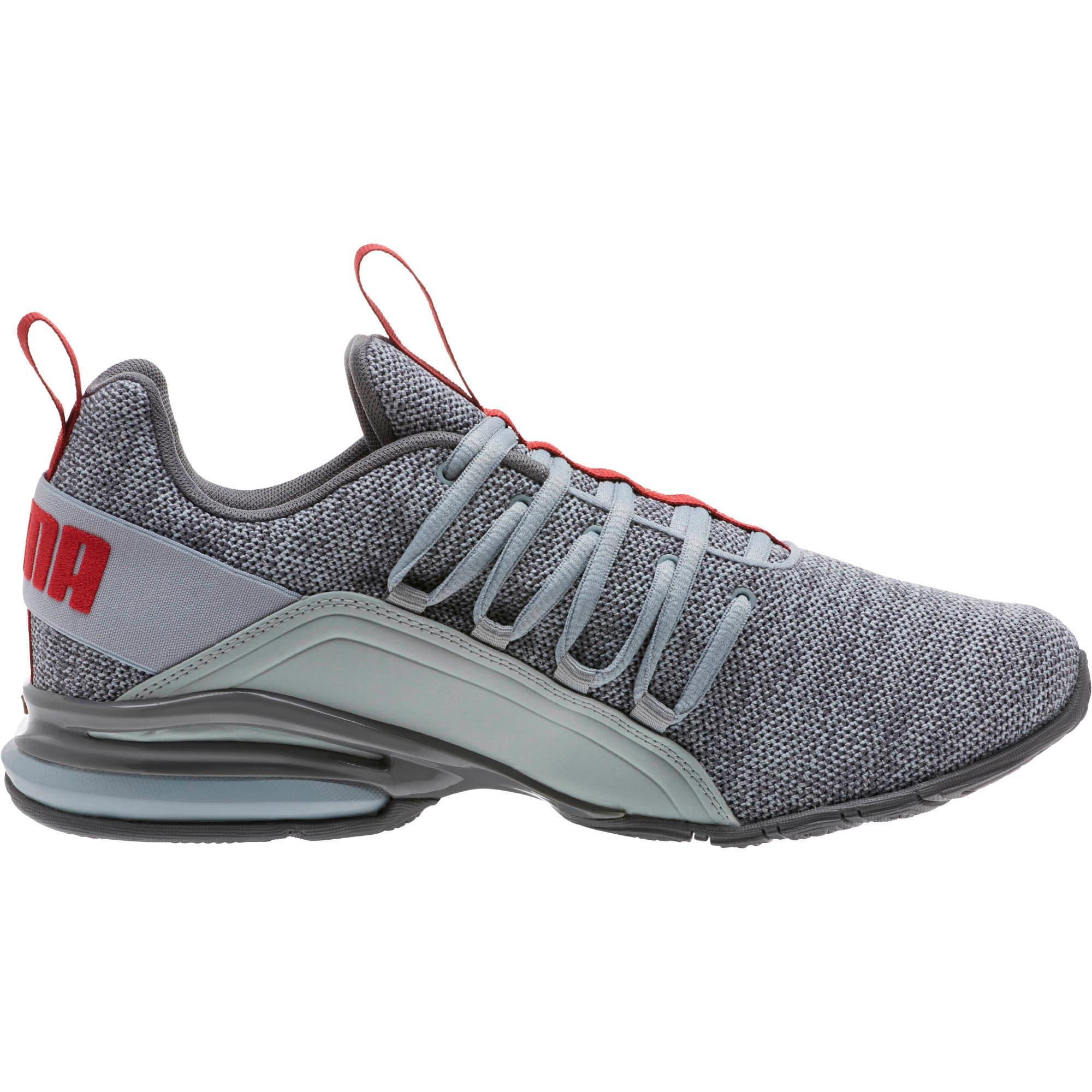 Thumbnail 3 of Axelion Men's Training Shoes, Quarry-QUIET SHADE-Red, medium
