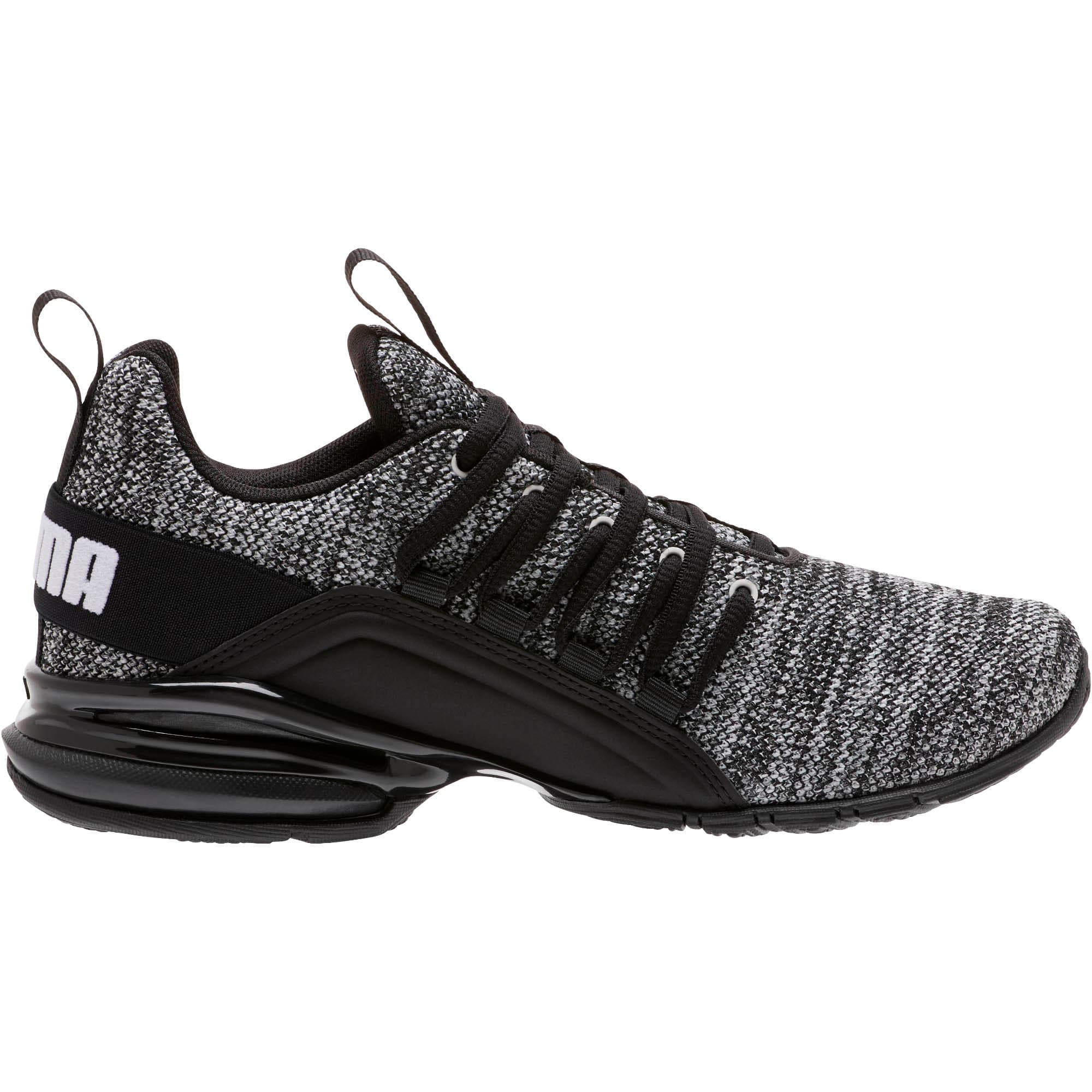Thumbnail 4 of Axelion Training Shoes JR, Puma Black, medium