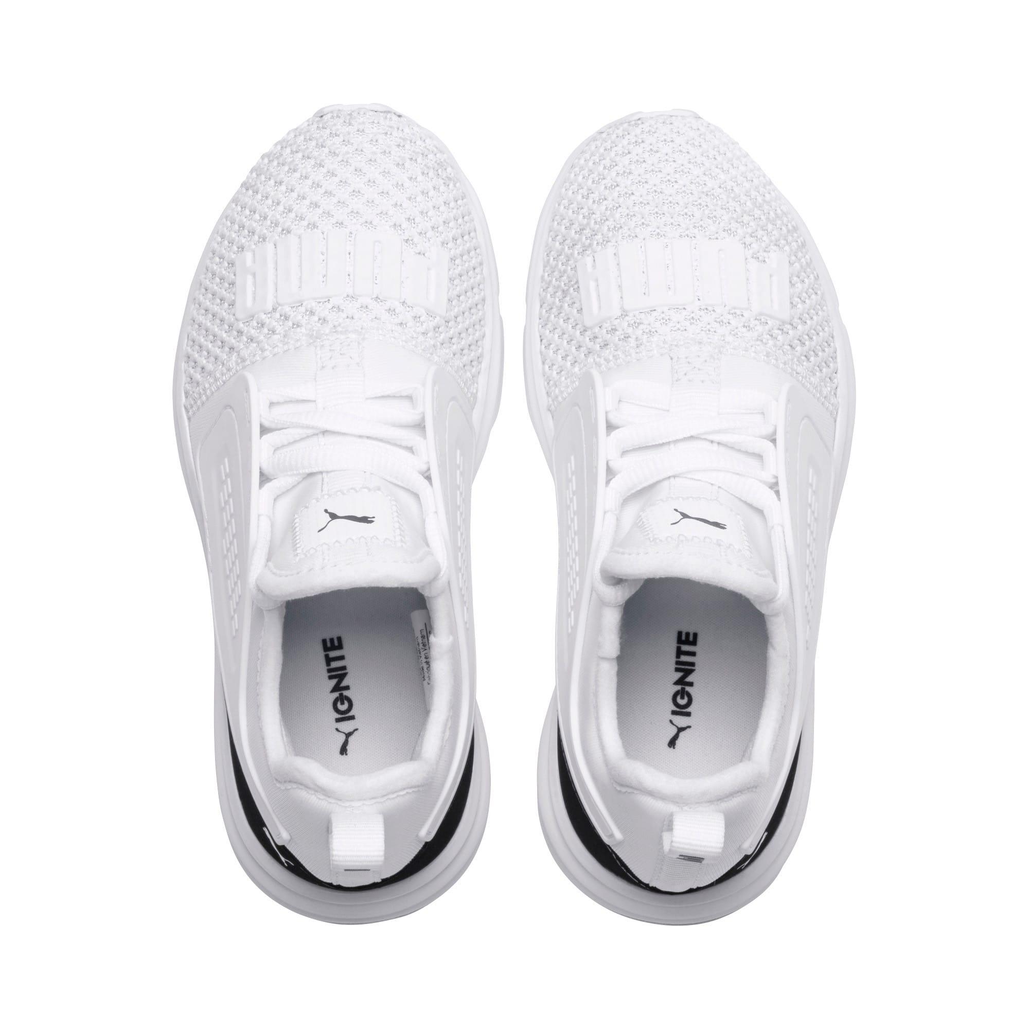 Thumbnail 6 of IGNITE Limitless 2 AC Little Kids' Little Kids' Shoes, Puma White-Puma Black, medium