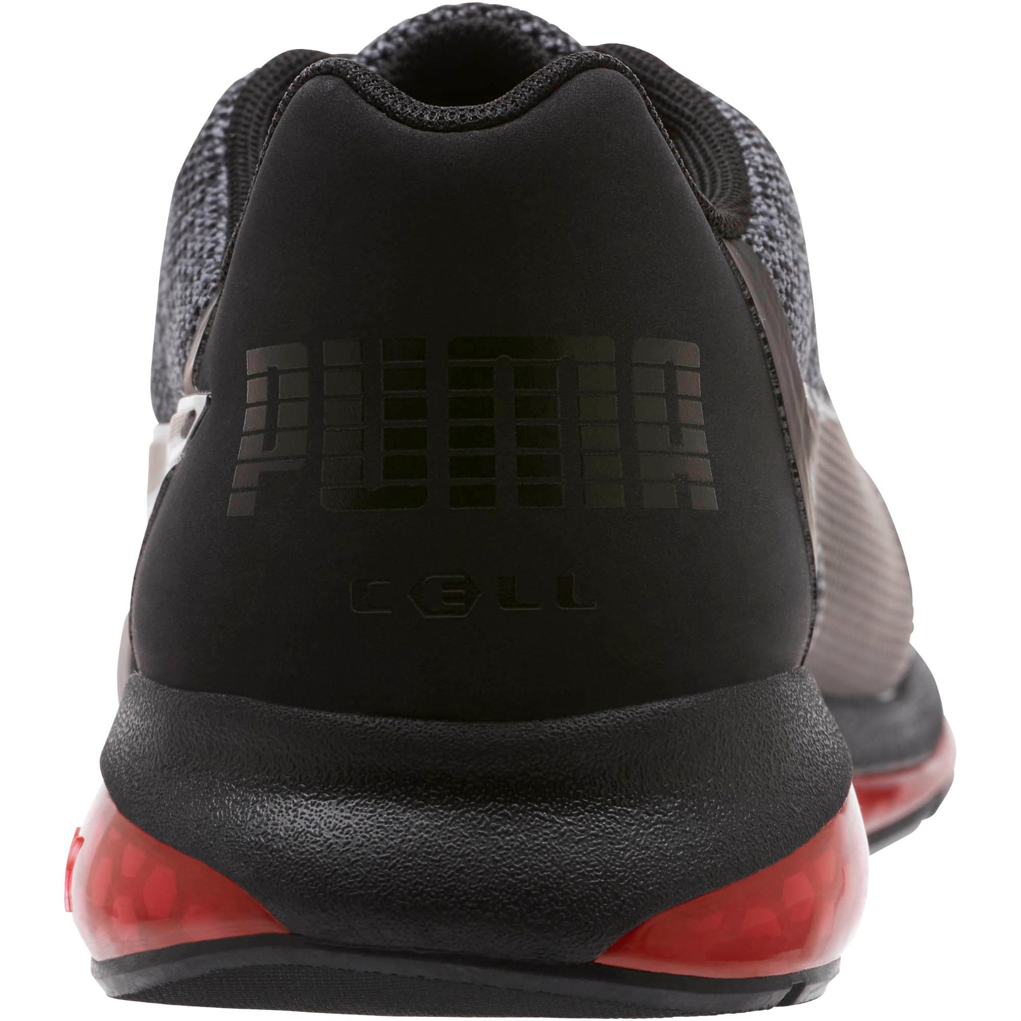 Thumbnail 3 of CELL Ultimate Knit Training Shoes, Pma Blk-QUIET SHDE-Rbbon Red, medium