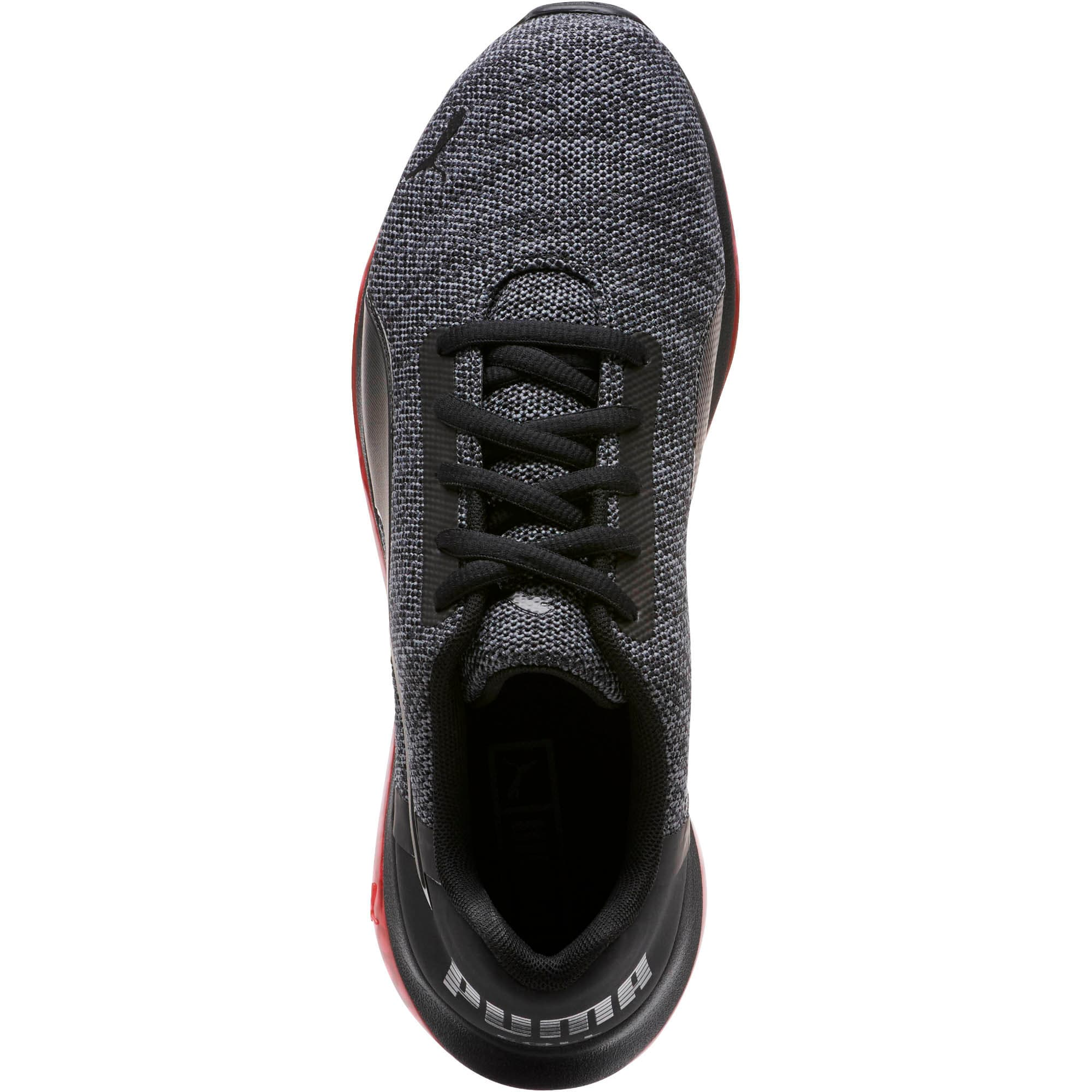 Thumbnail 6 of CELL Ultimate Knit Men's Training Shoes, Pma Blk-QUIET SHDE-Rbbon Red, medium