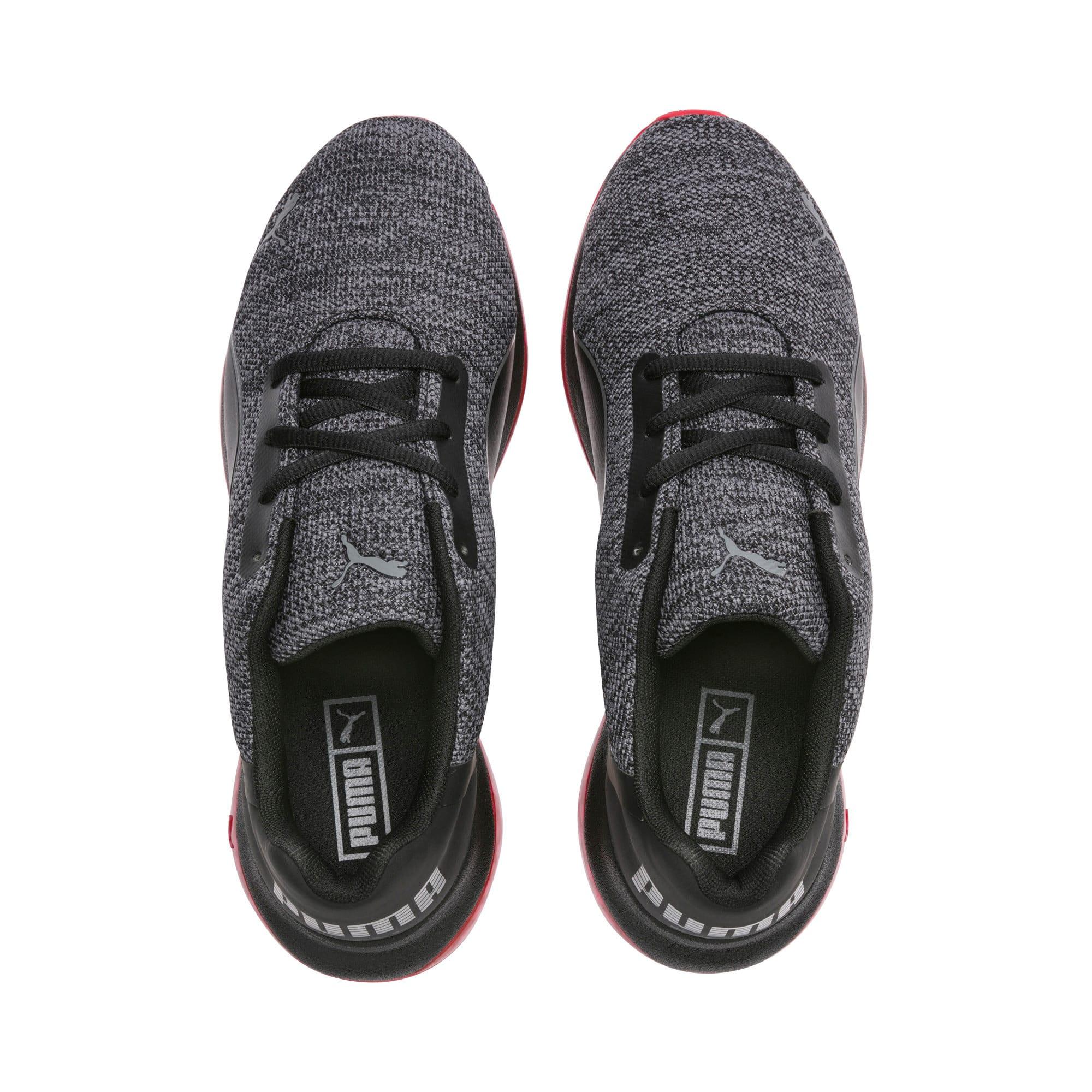 Thumbnail 4 of CELL Ultimate Knit Men's Training Shoes, Pma Blk-QUIET SHDE-Rbbon Red, medium