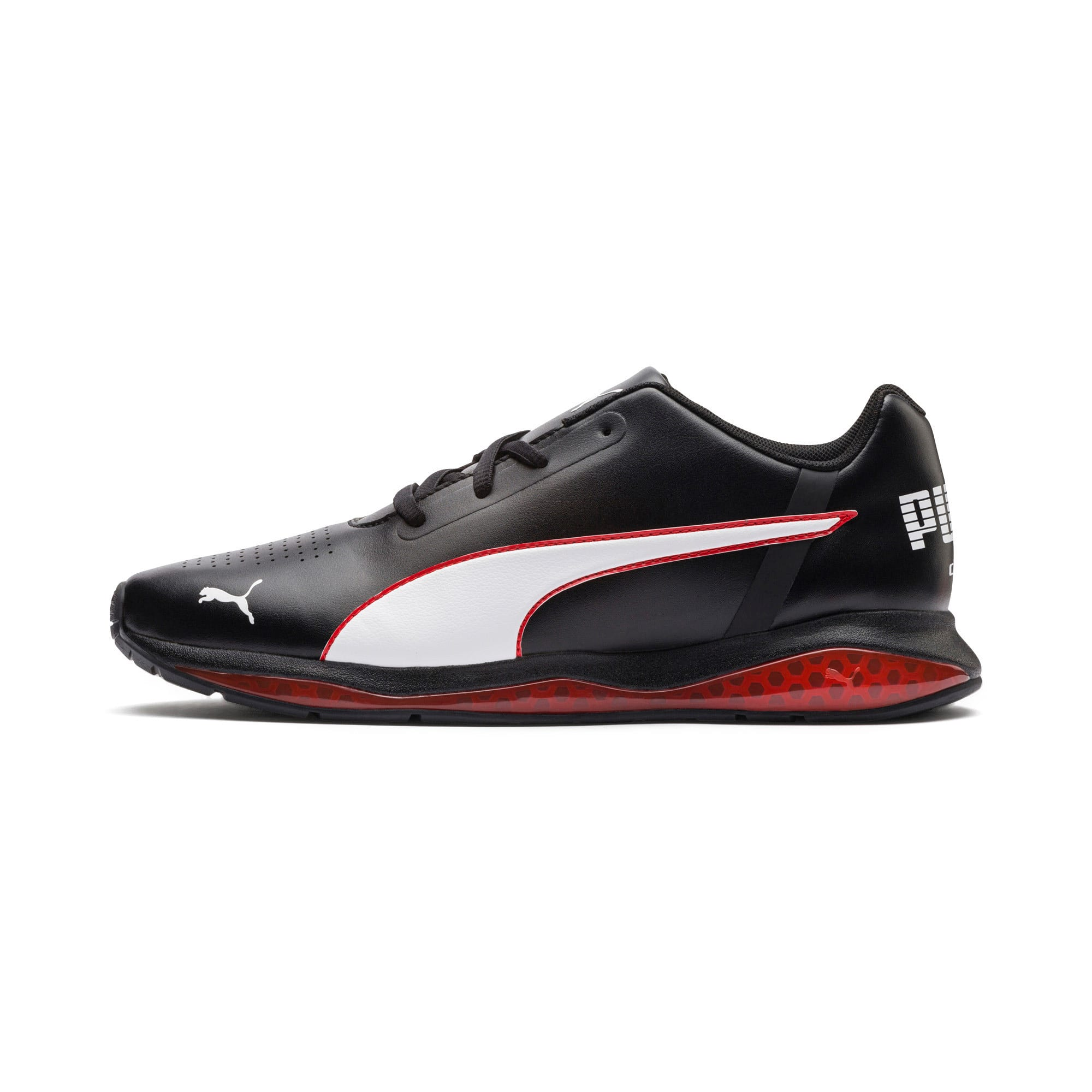 Thumbnail 1 of CELL Ultimate SL Running Shoes, Pma Blk-Pma Wht-Hgh Rsk Rd, medium