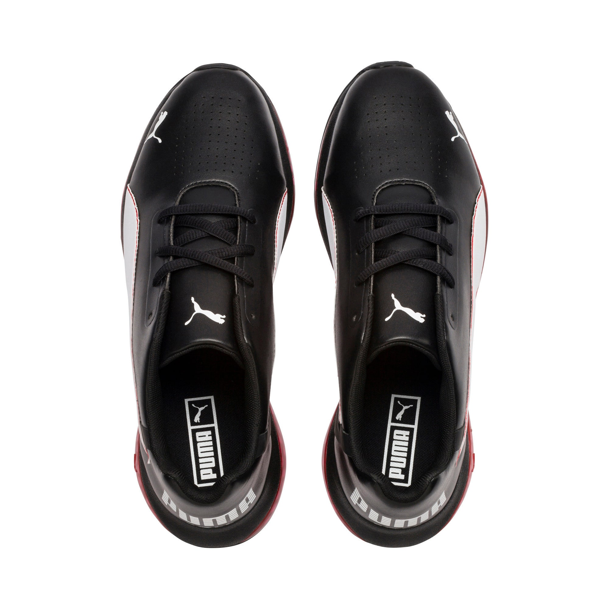Thumbnail 6 of CELL Ultimate SL Running Shoes, Pma Blk-Pma Wht-Hgh Rsk Rd, medium
