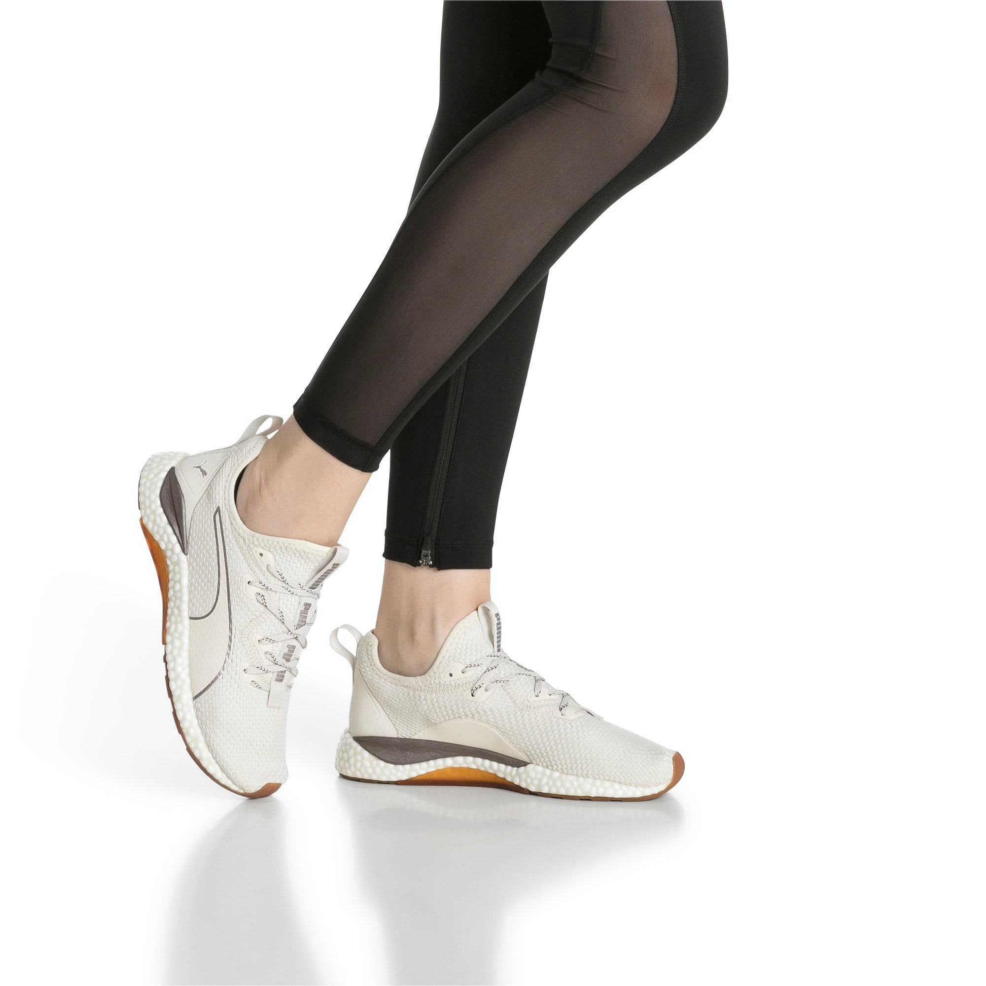 Thumbnail 7 of HYBRID Runner Luxe Women's Running Shoes, Whisper White-Puma White, medium