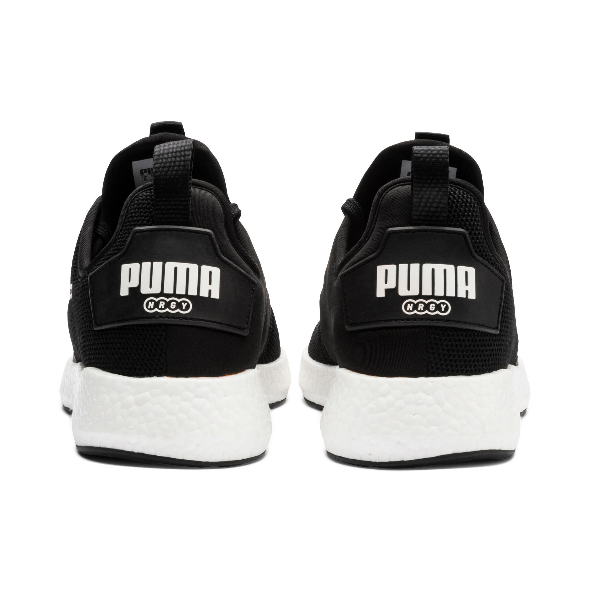 Thumbnail 3 of NRGY Neko Men's Running Shoes, Puma Black-Puma White, medium