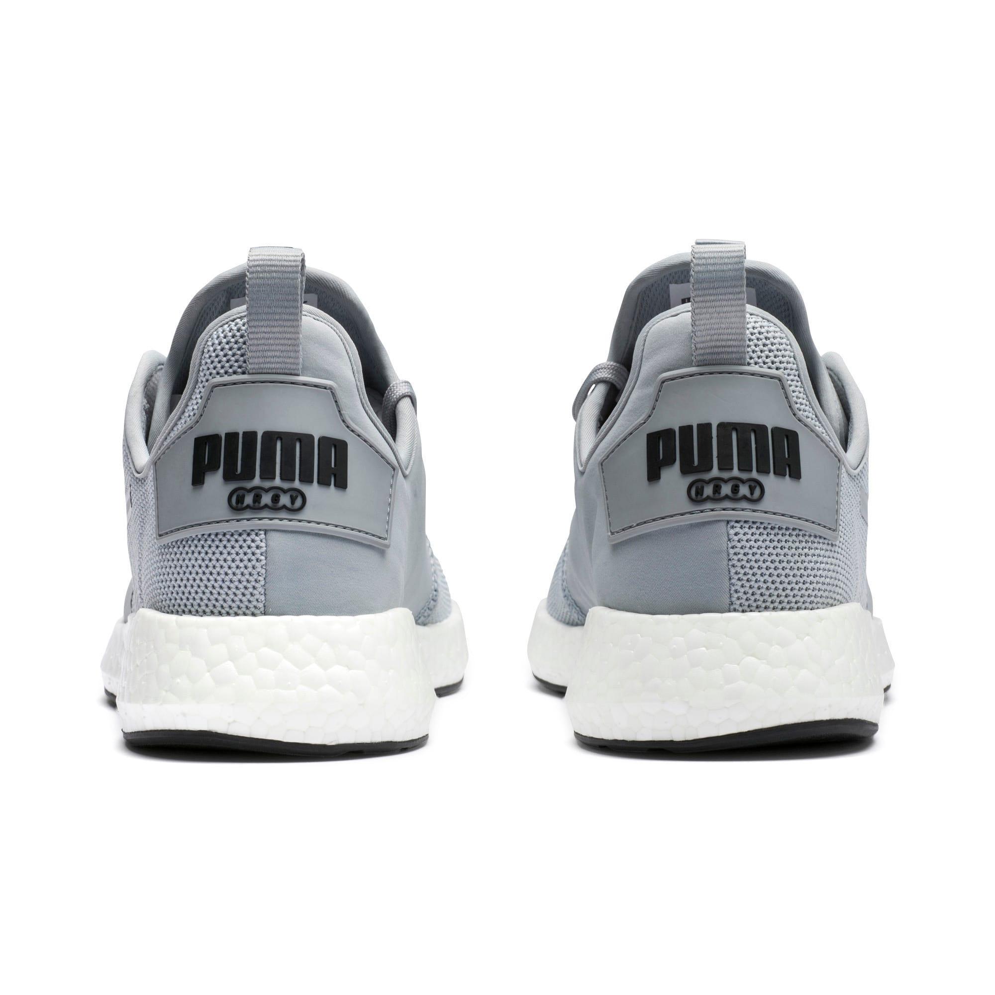 Thumbnail 3 of NRGY Neko Men's Running Shoes, Quarry-Puma White, medium