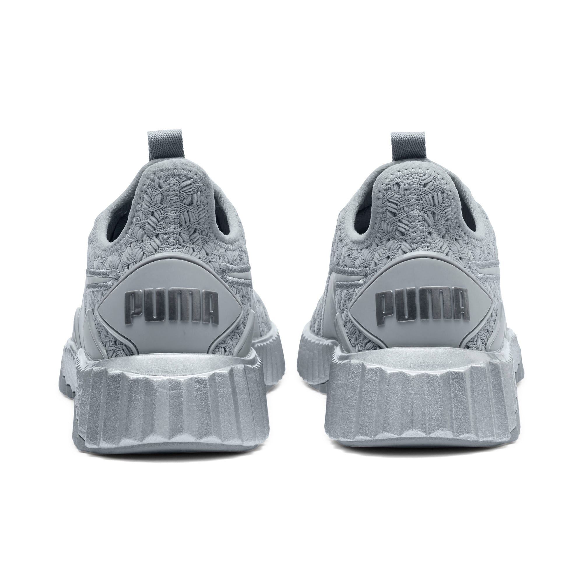 Thumbnail 4 of Defy Sparkle Women's Training Shoes, Quarry-Puma Silver, medium