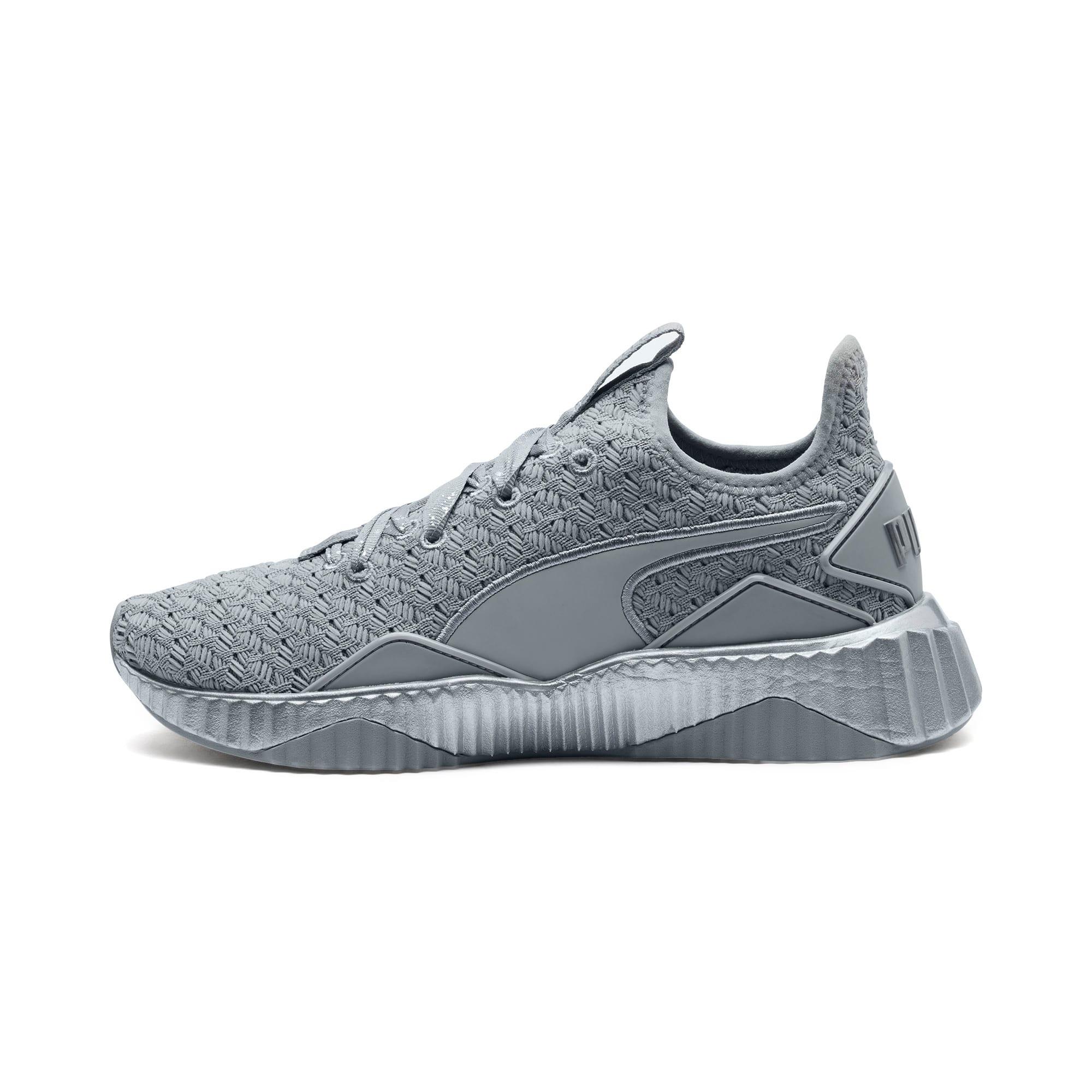 Thumbnail 1 of Defy Sparkle Women's Training Shoes, Quarry-Puma Silver, medium