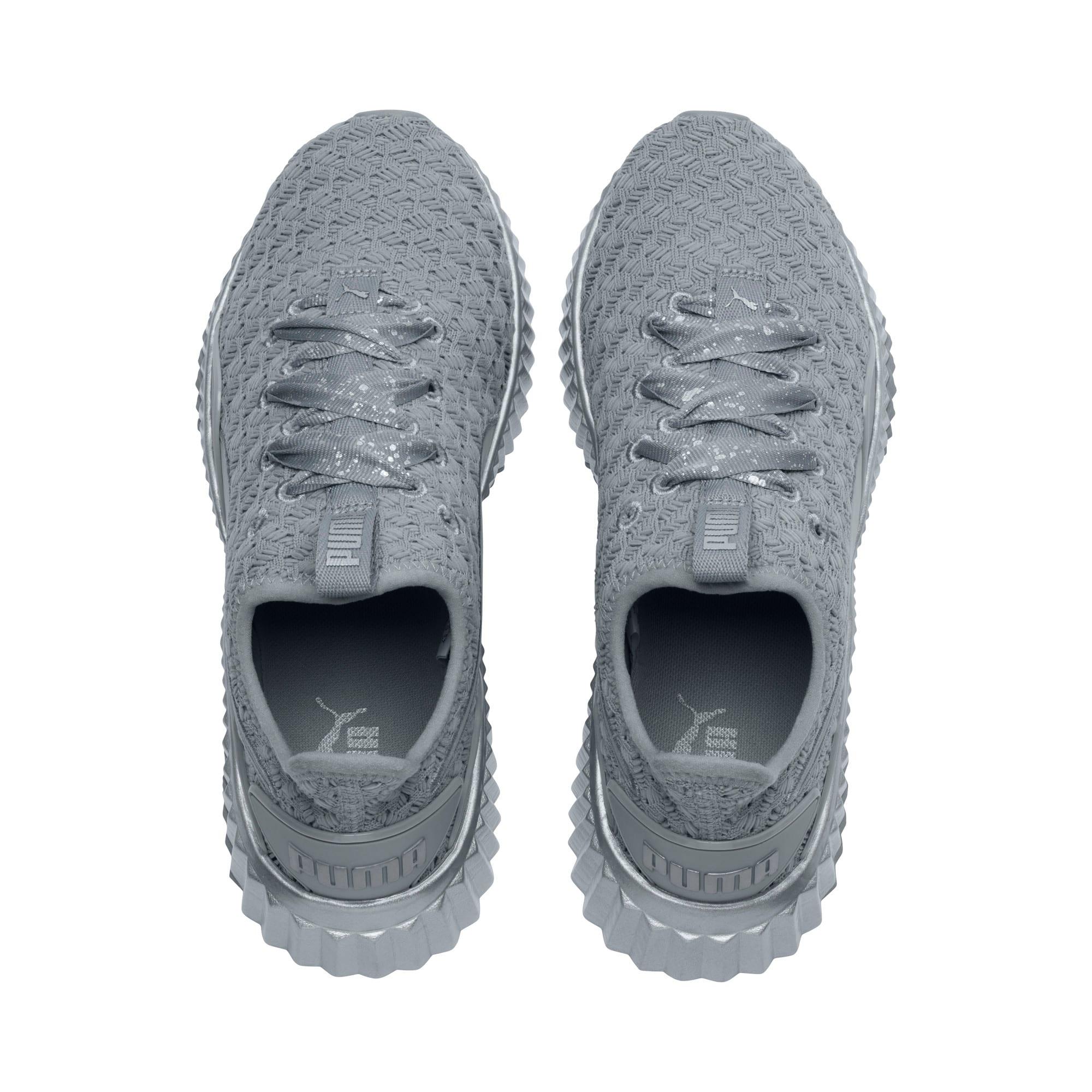 Thumbnail 6 of Defy Sparkle Women's Training Shoes, Quarry-Puma Silver, medium