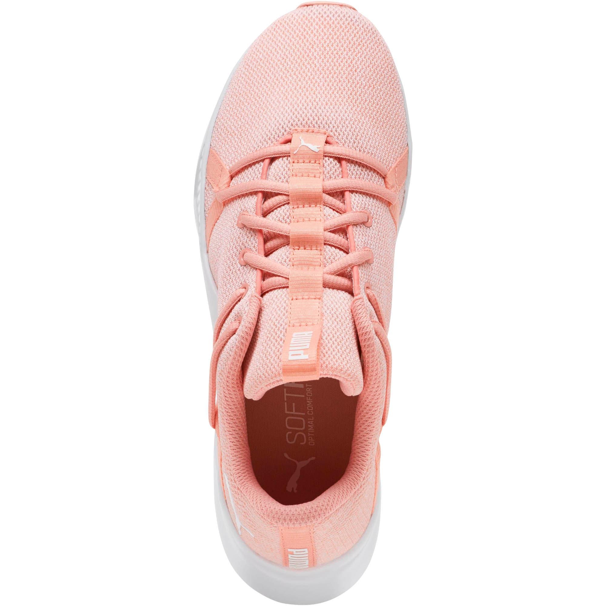Thumbnail 5 of Incite Knit Women's Training Shoes, Peach Bud-Puma White, medium