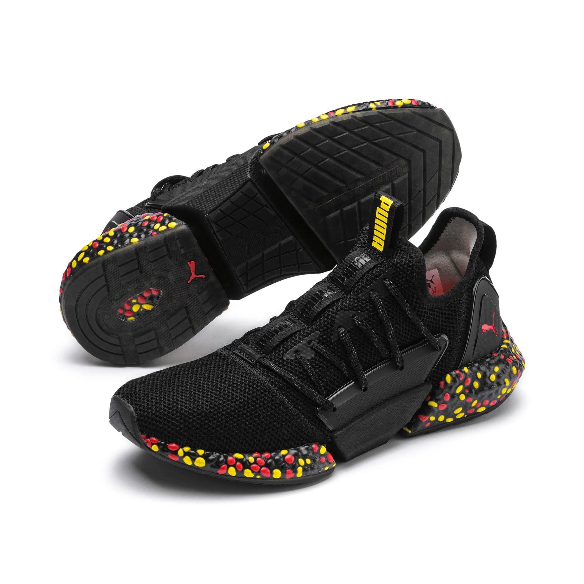 Miniaturka 3 Męskie buty do biegania Hybrid Rocket Runner, Kolor Black-Blazing Yellow-Red, średnie