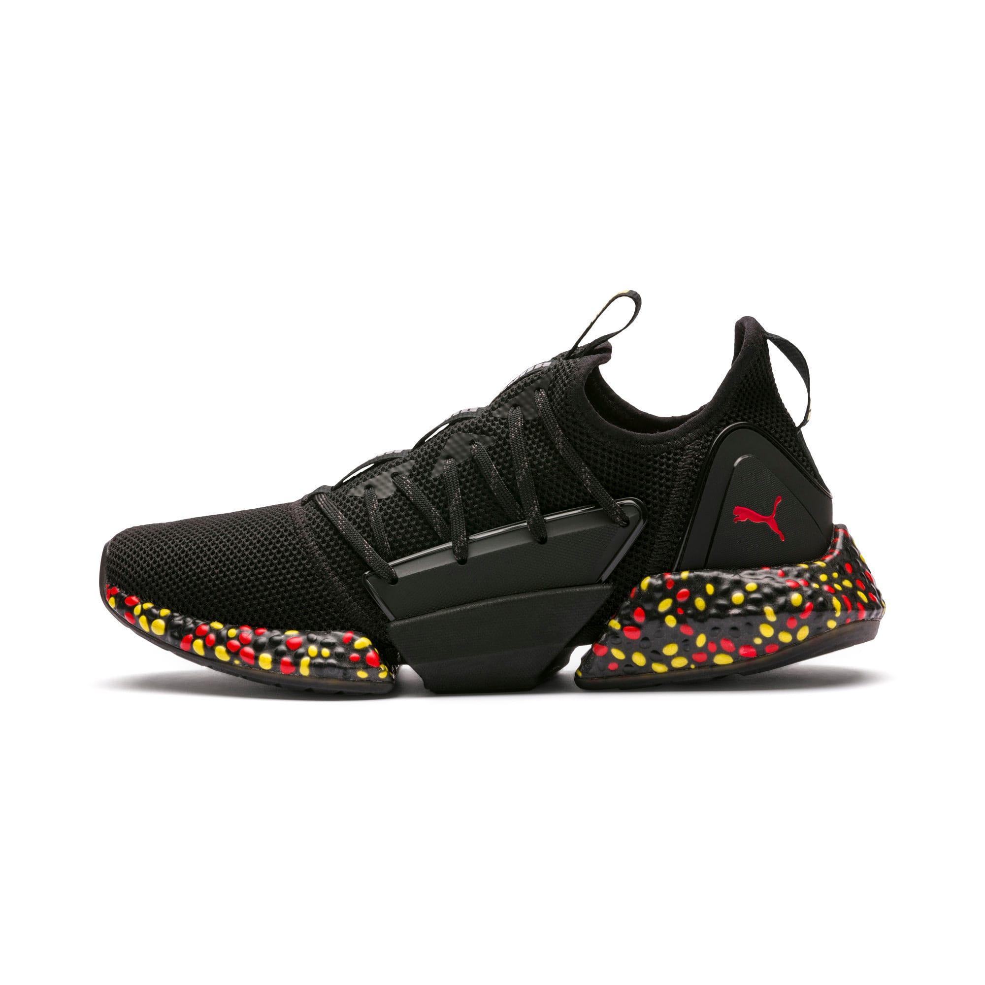 Imagen en miniatura 1 de Zapatillas de running de hombre Hybrid Rocket Runner, Black-Blazing Yellow-Red, mediana