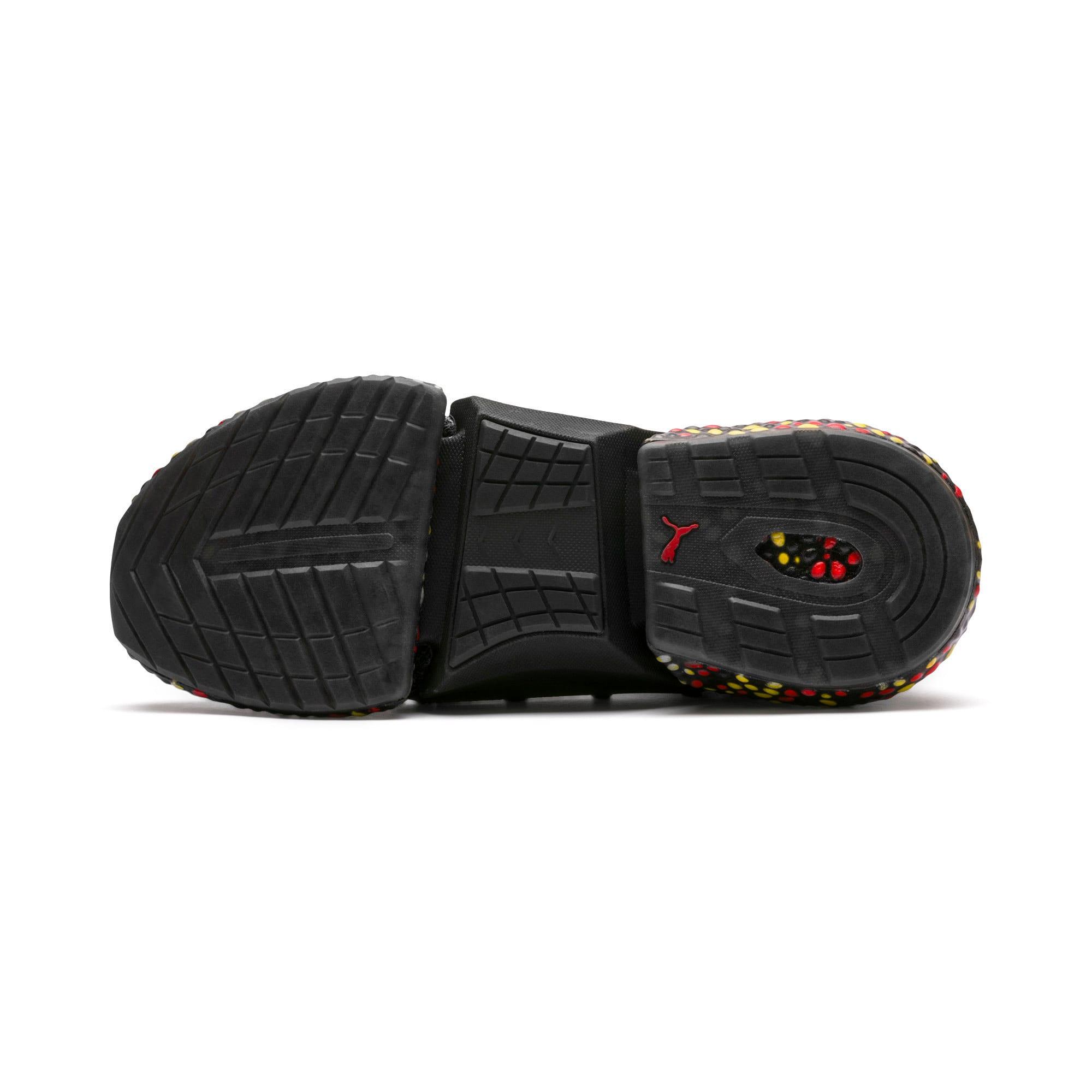 Miniaturka 5 Męskie buty do biegania Hybrid Rocket Runner, Kolor Black-Blazing Yellow-Red, średnie