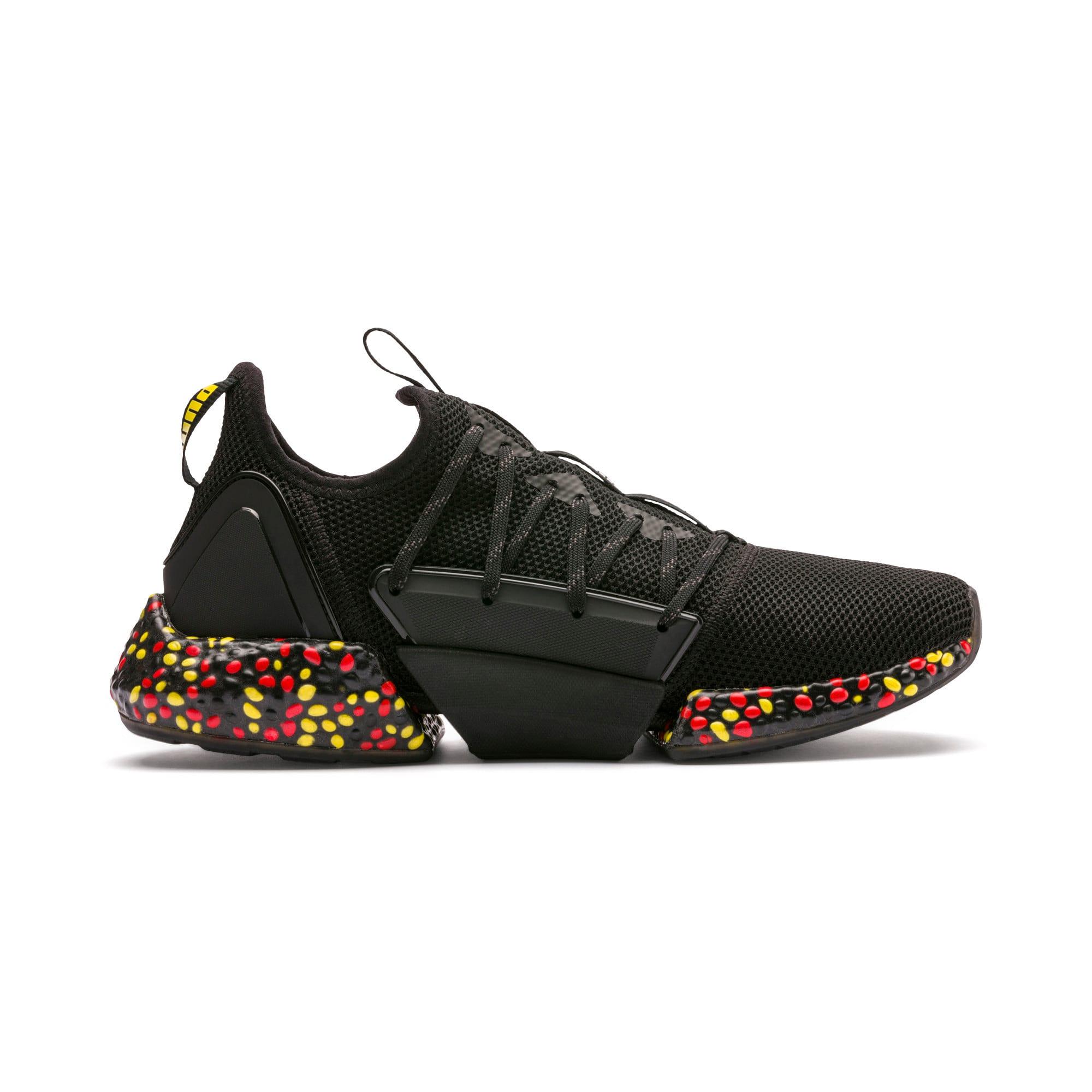 Imagen en miniatura 7 de Zapatillas de running de hombre Hybrid Rocket Runner, Black-Blazing Yellow-Red, mediana