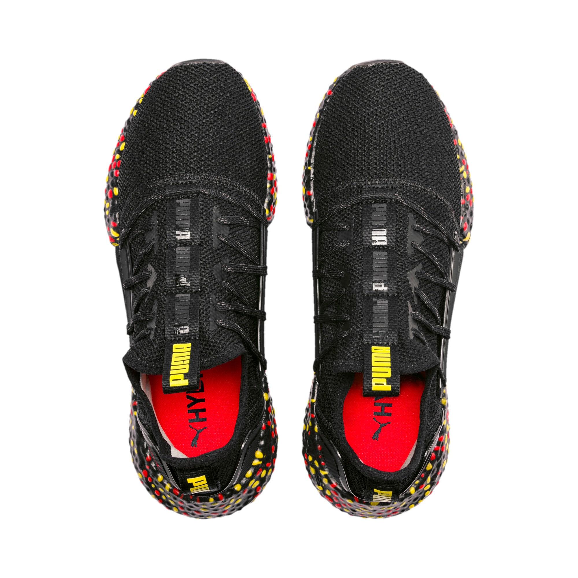 Miniaturka 8 Męskie buty do biegania Hybrid Rocket Runner, Kolor Black-Blazing Yellow-Red, średnie