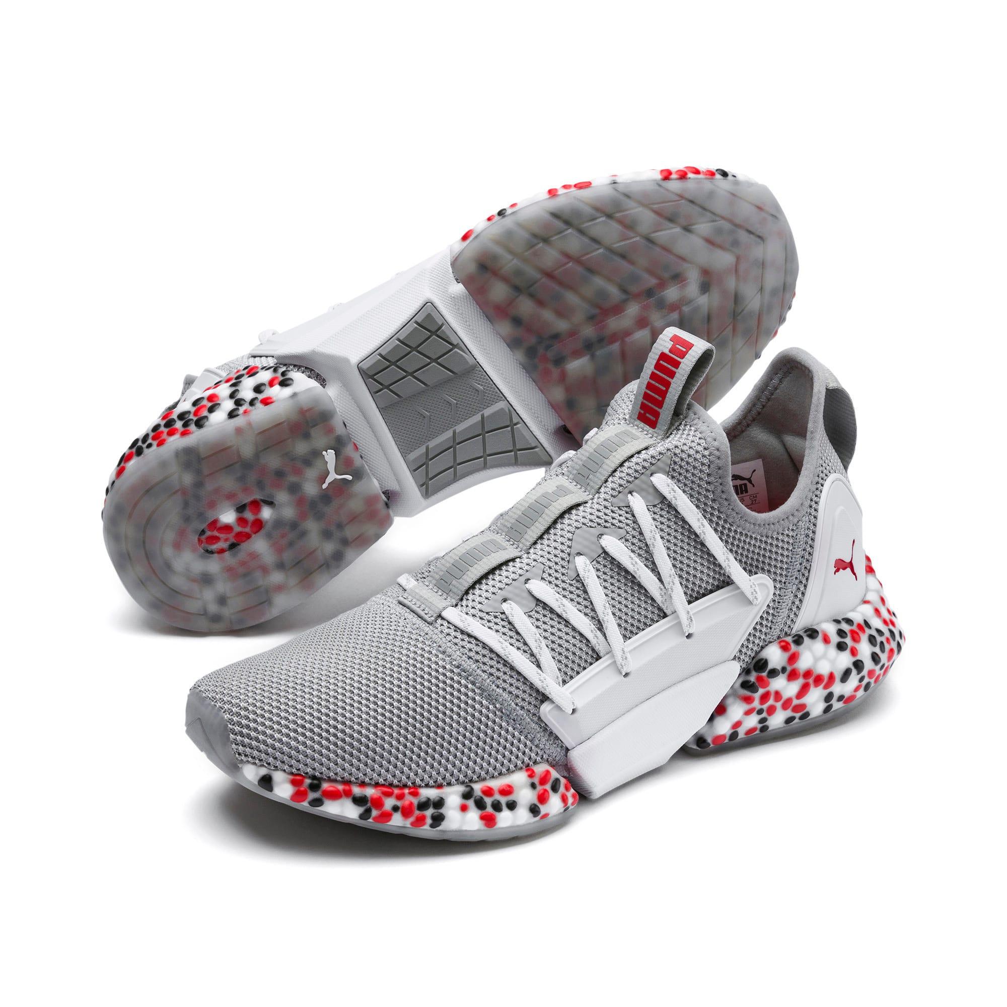 Miniatura 2 de Zapatos para correr HYBRID Rocket Runner para hombre, Quarry-High Risk Red-Black, mediano