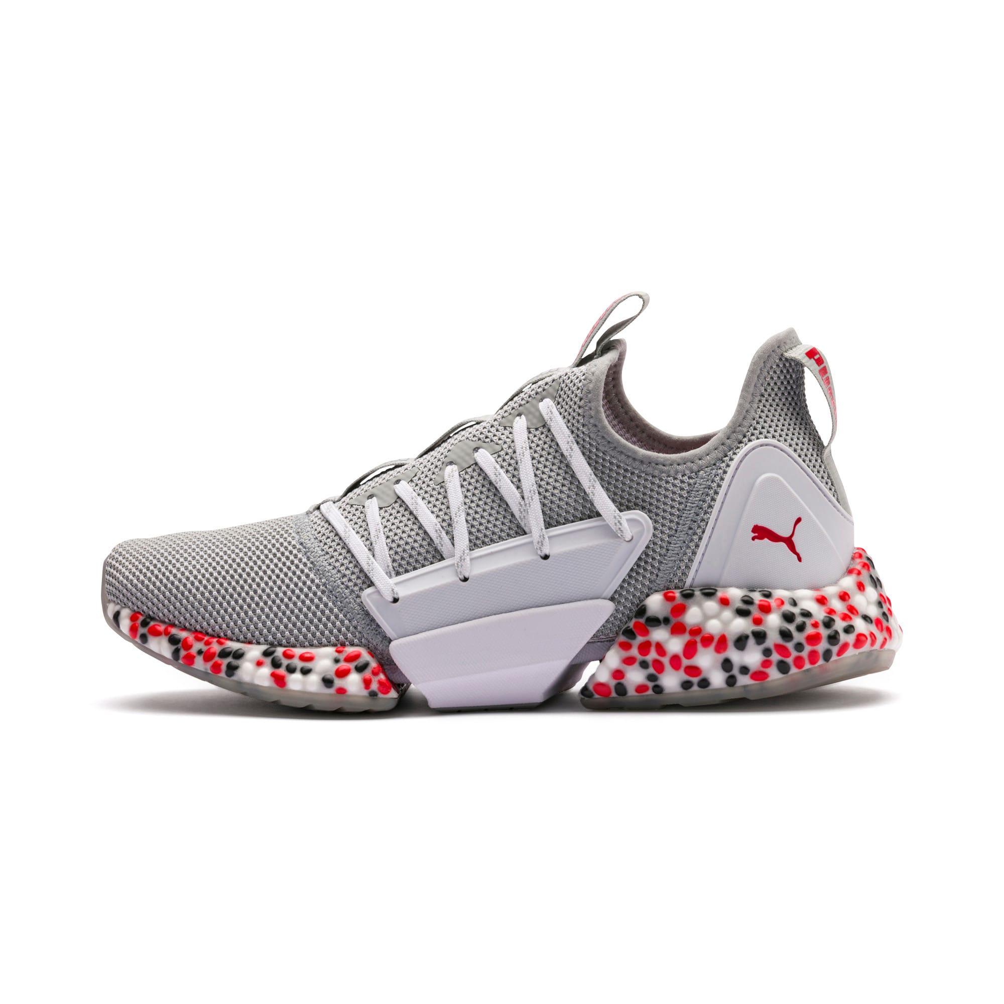 Miniatura 1 de Zapatos para correr HYBRID Rocket Runner para hombre, Quarry-High Risk Red-Black, mediano