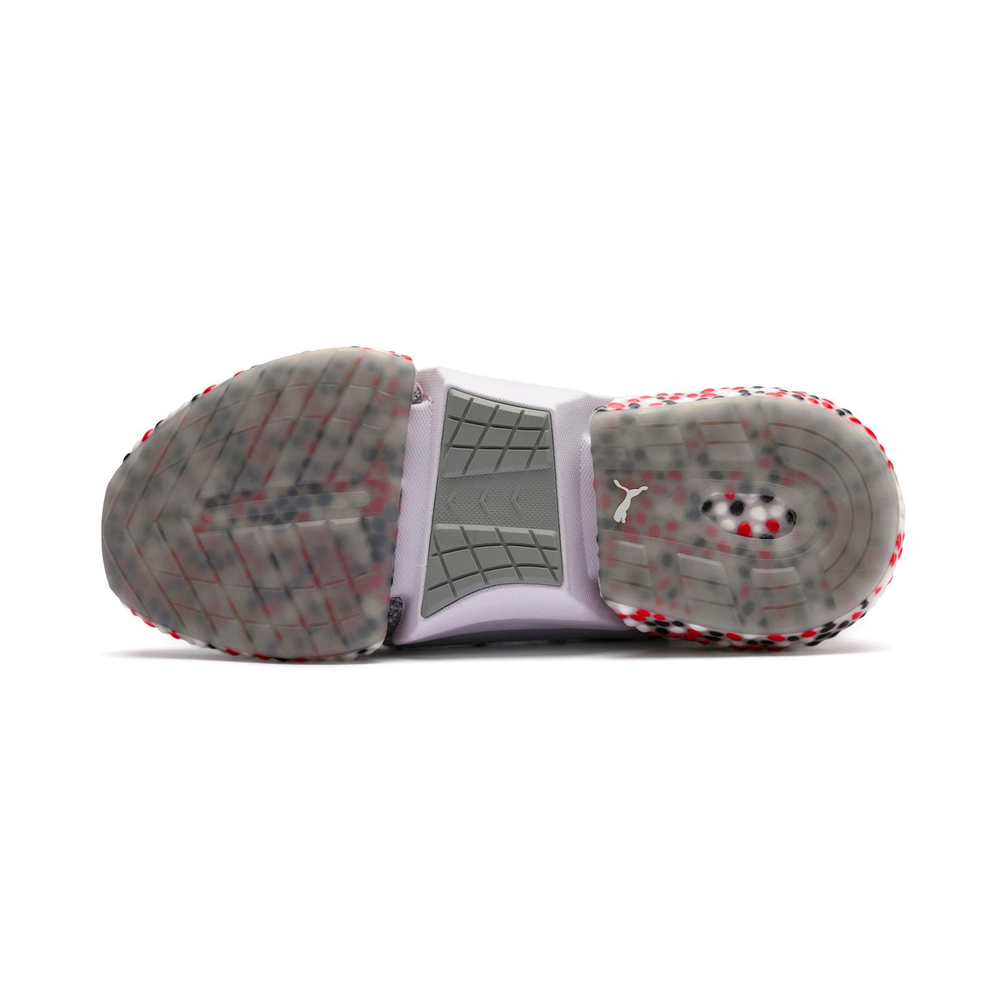 Miniatura 3 de Zapatos para correr HYBRID Rocket Runner para hombre, Quarry-High Risk Red-Black, mediano