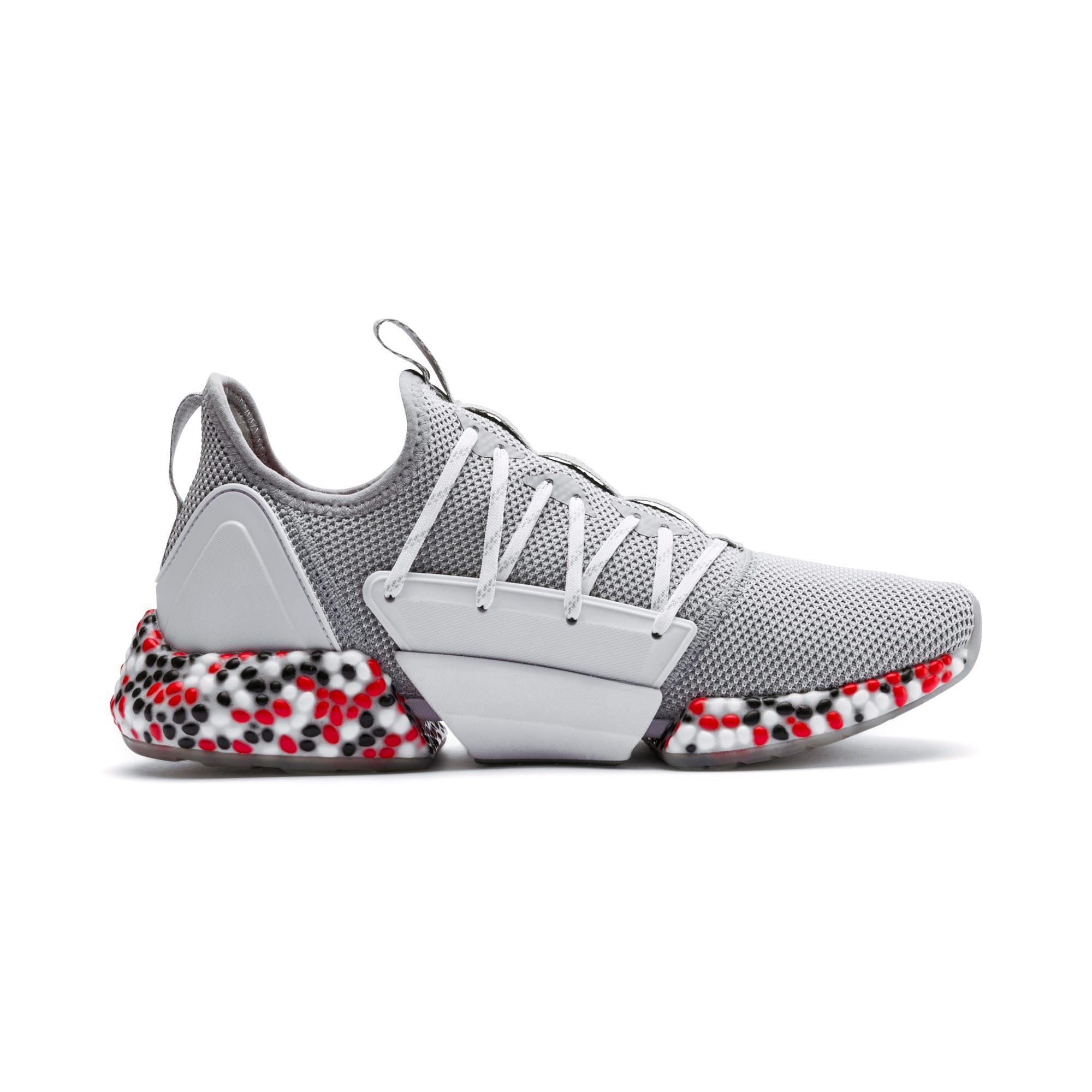 Miniatura 5 de Zapatos para correr HYBRID Rocket Runner para hombre, Quarry-High Risk Red-Black, mediano