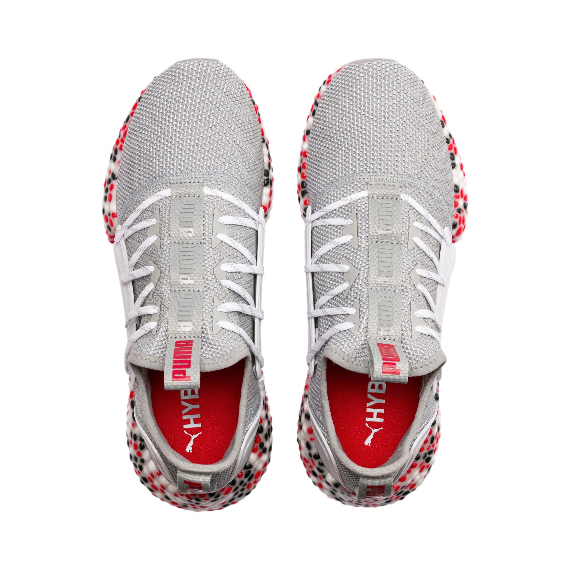 Thumbnail 7 of HYBRID Rocket Runner Men's Running Shoes, Quarry-High Risk Red-Black, medium