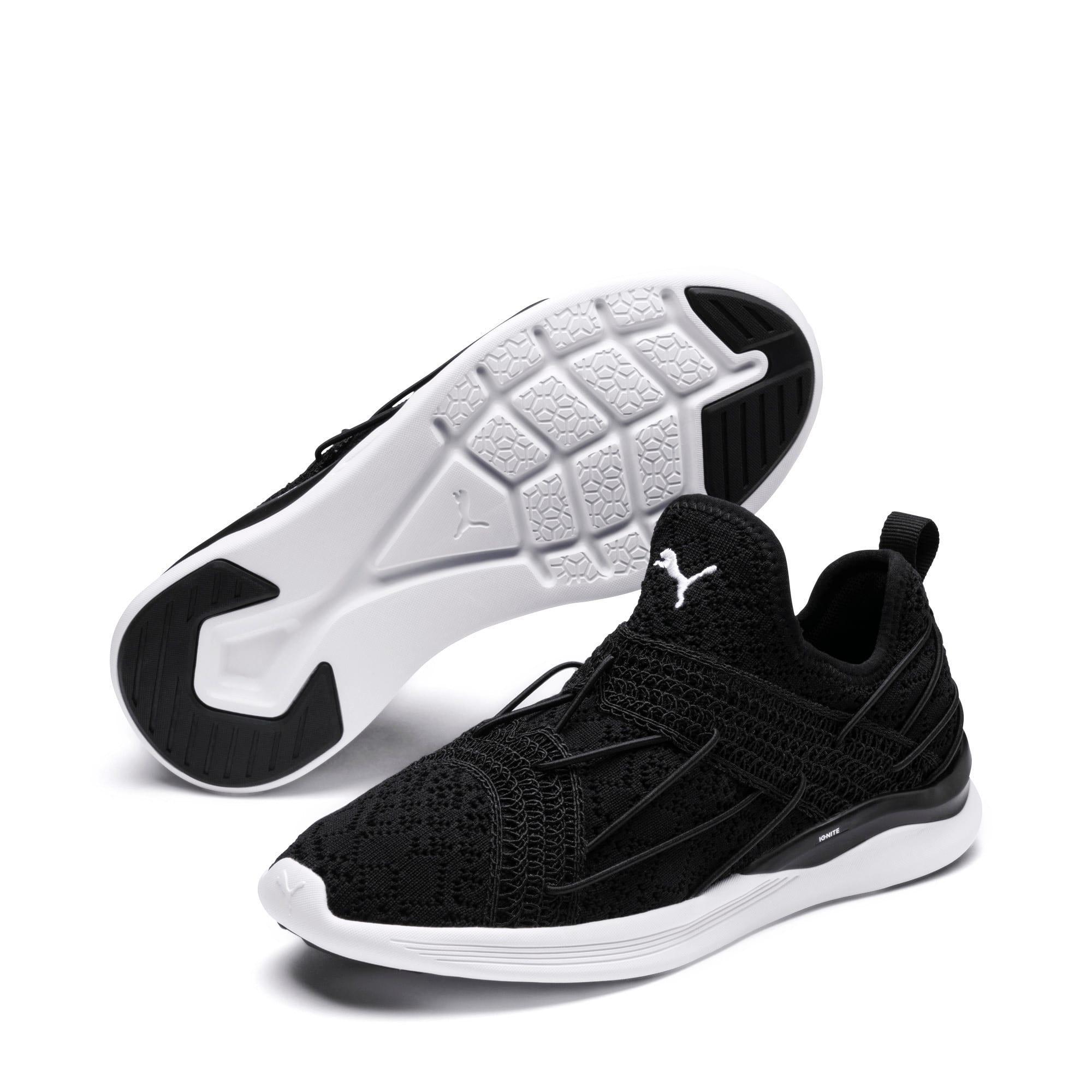 Thumbnail 2 of IGNITE Flash Sensua Women's Running Shoes, Puma Black-Puma White, medium