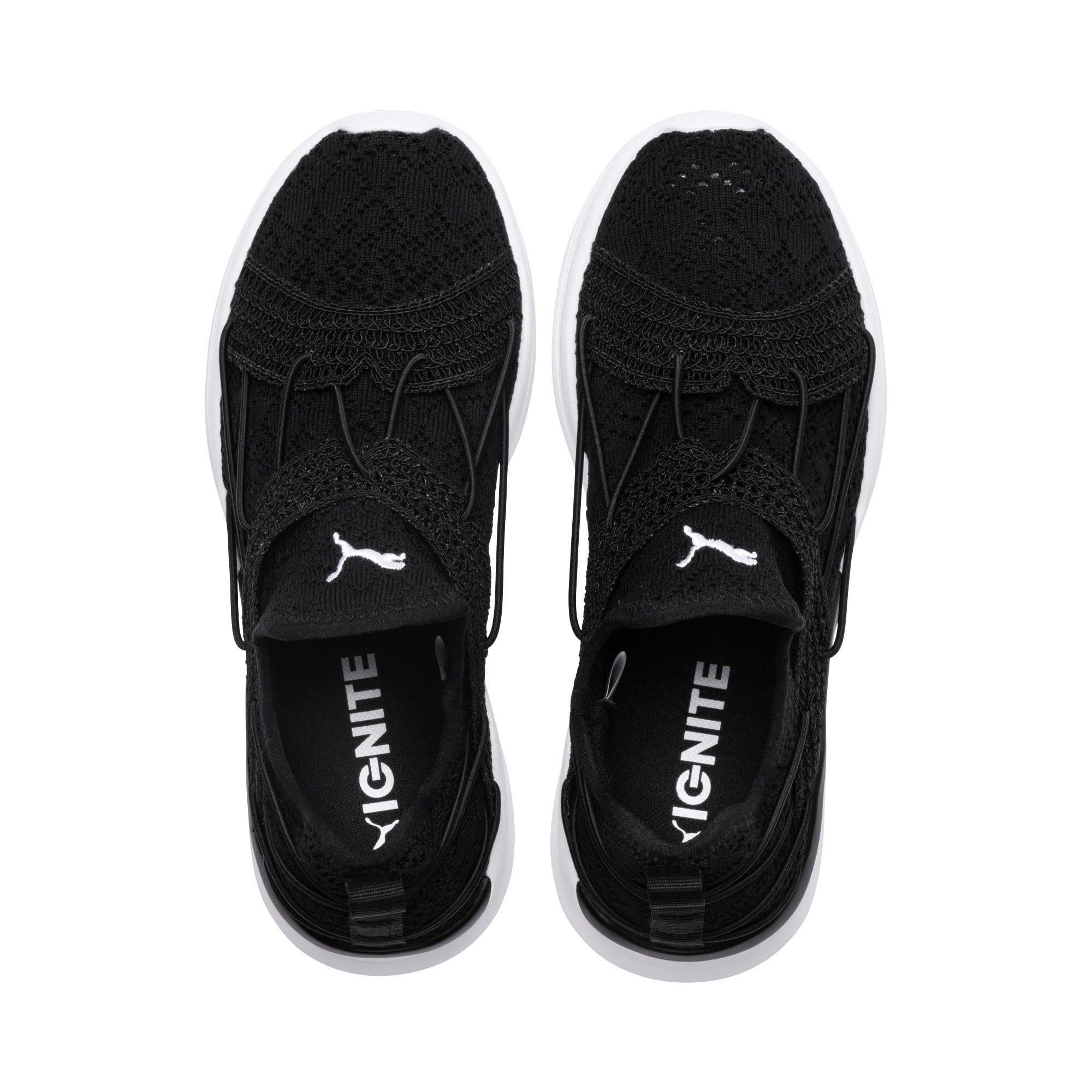 Thumbnail 6 of IGNITE Flash Sensua Women's Running Shoes, Puma Black-Puma White, medium