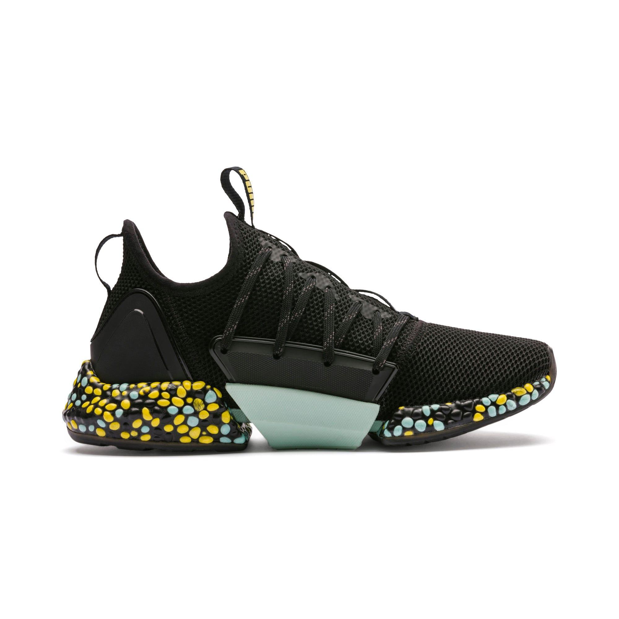 Thumbnail 6 of Hybrid Rocket Women's Running Shoes, Black-Fair Aqua-Yellow, medium