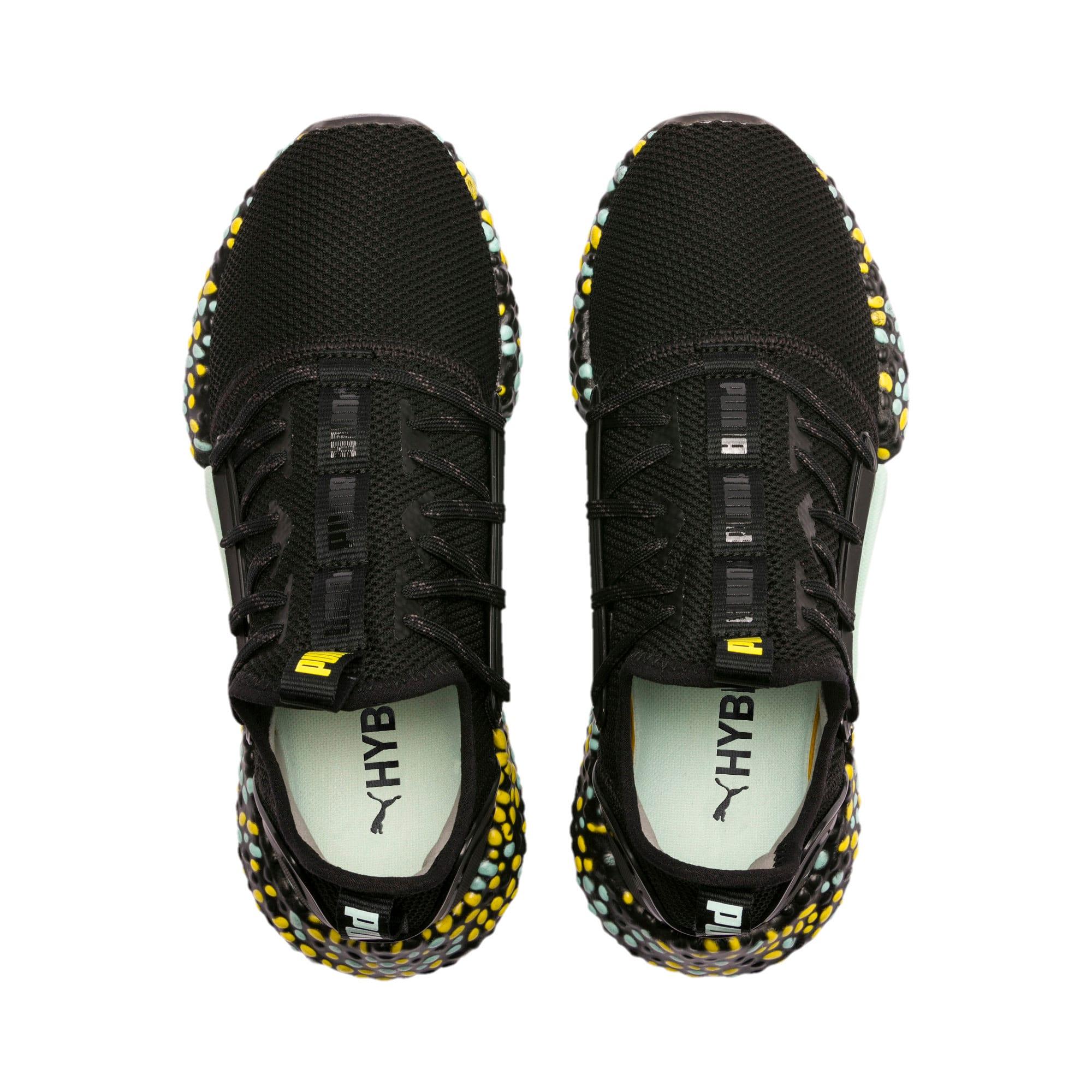 Thumbnail 7 of Hybrid Rocket Women's Running Shoes, Black-Fair Aqua-Yellow, medium