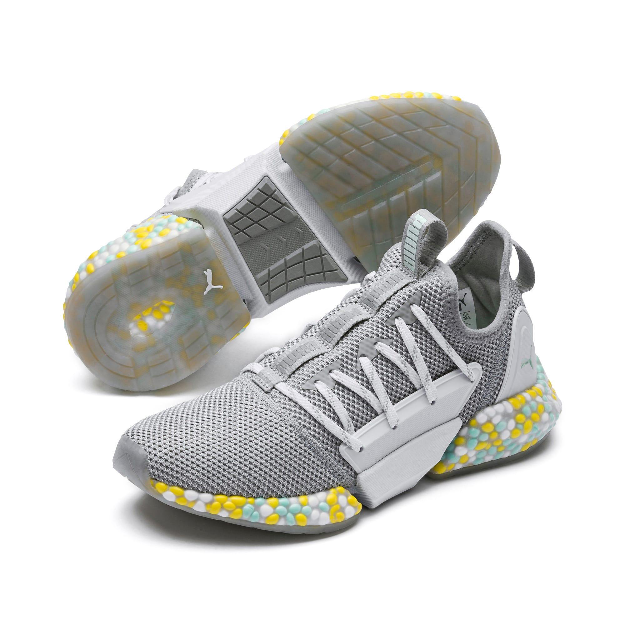 Thumbnail 2 of Hybrid Rocket Women's Running Shoes, Quarry-Puma White-Fair Aqua, medium