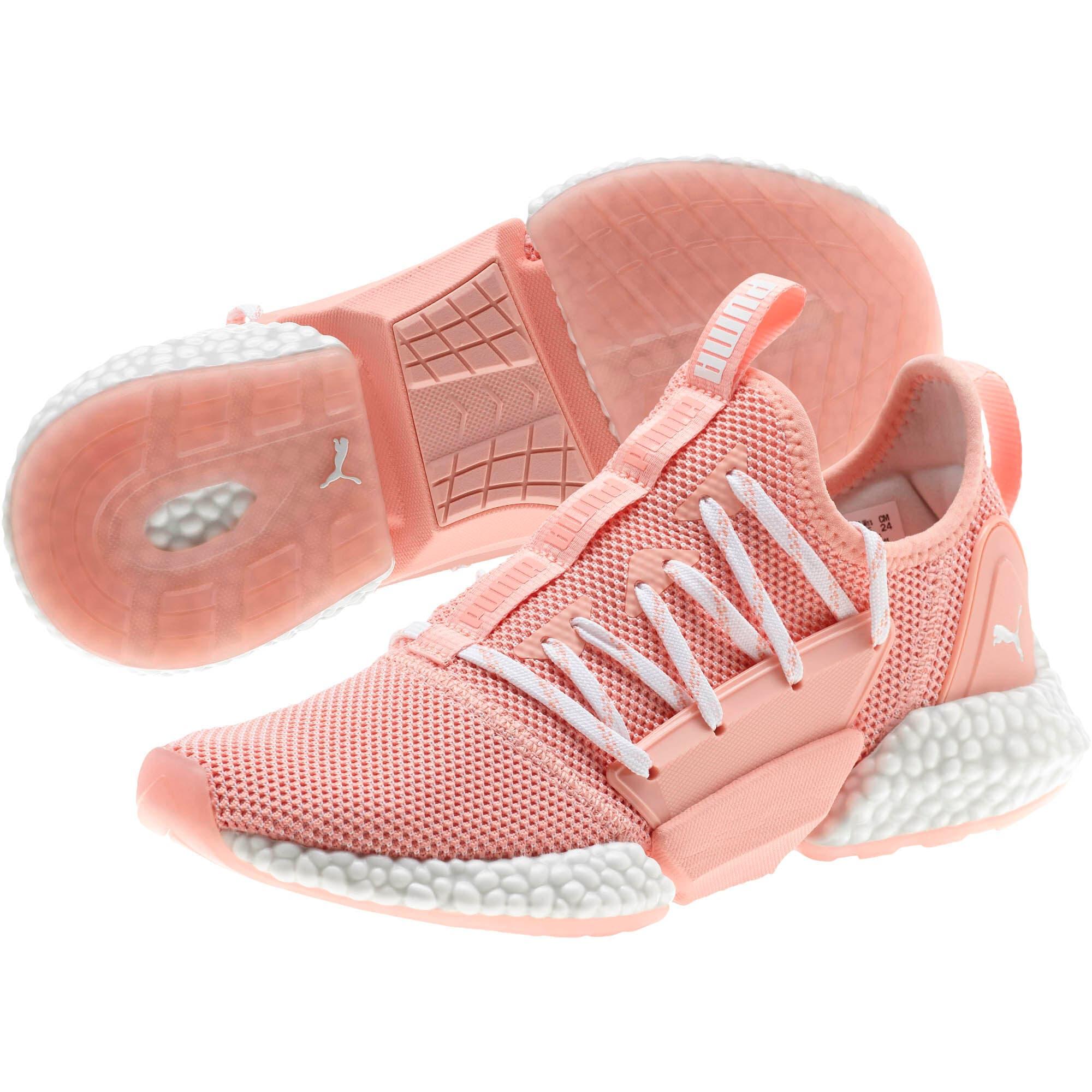Miniatura 2 de Zapatos para correr HYBRID Rocket Runner para mujer, Peach Bud-Puma White, mediano