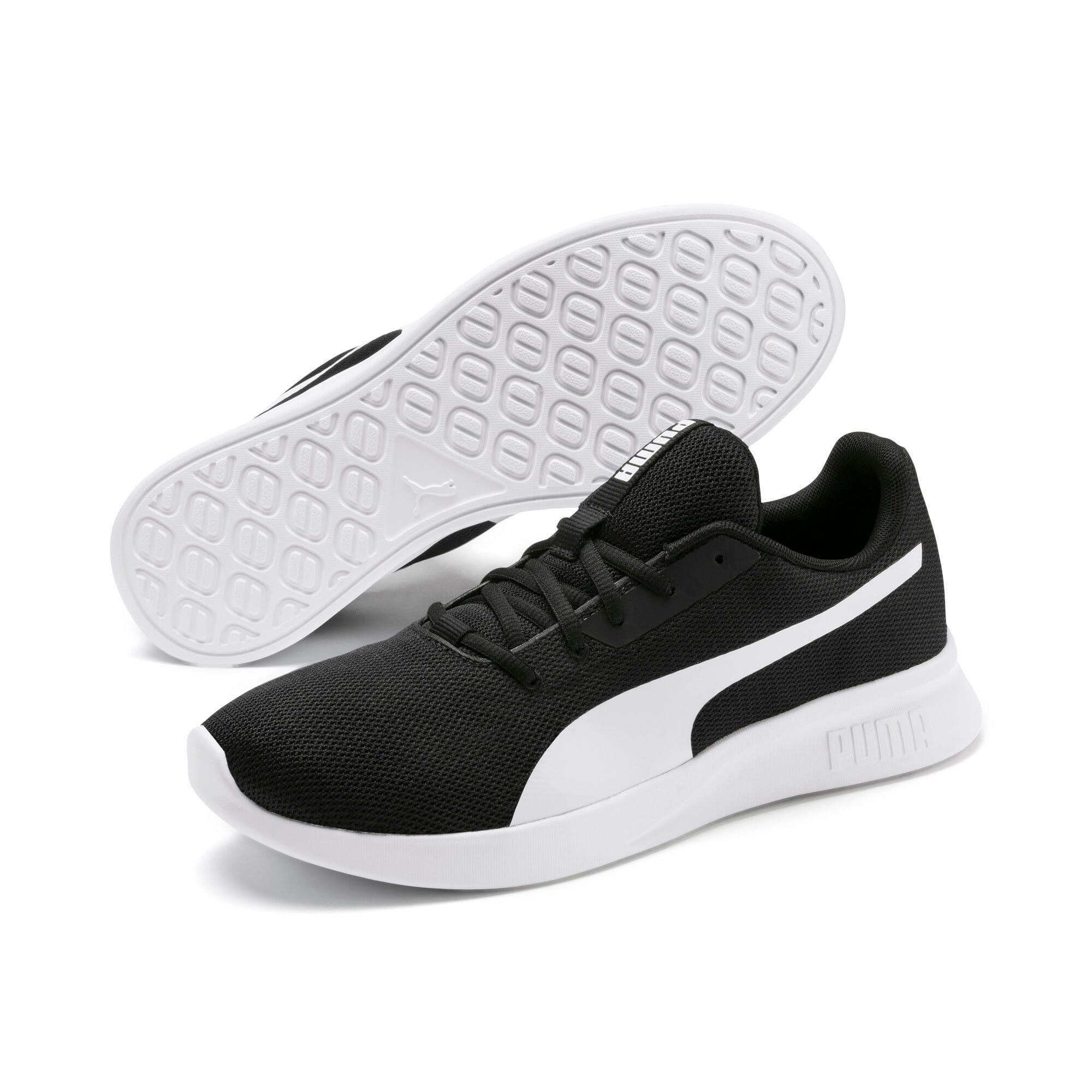 Thumbnail 4 of Modern Runner Sneakers, Puma Black-Puma White, medium-IND