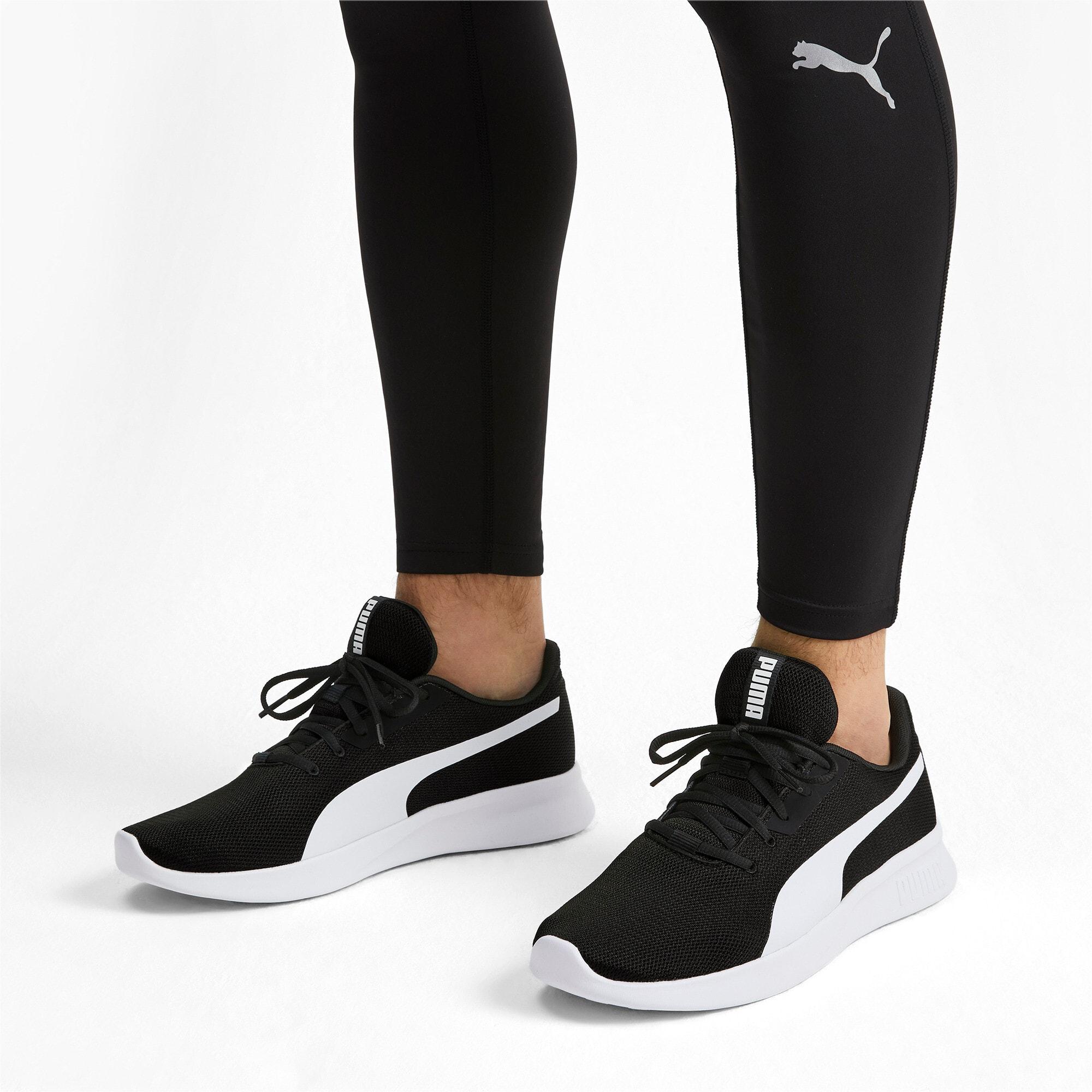 Thumbnail 2 of Modern Runner Sneakers, Puma Black-Puma White, medium-IND