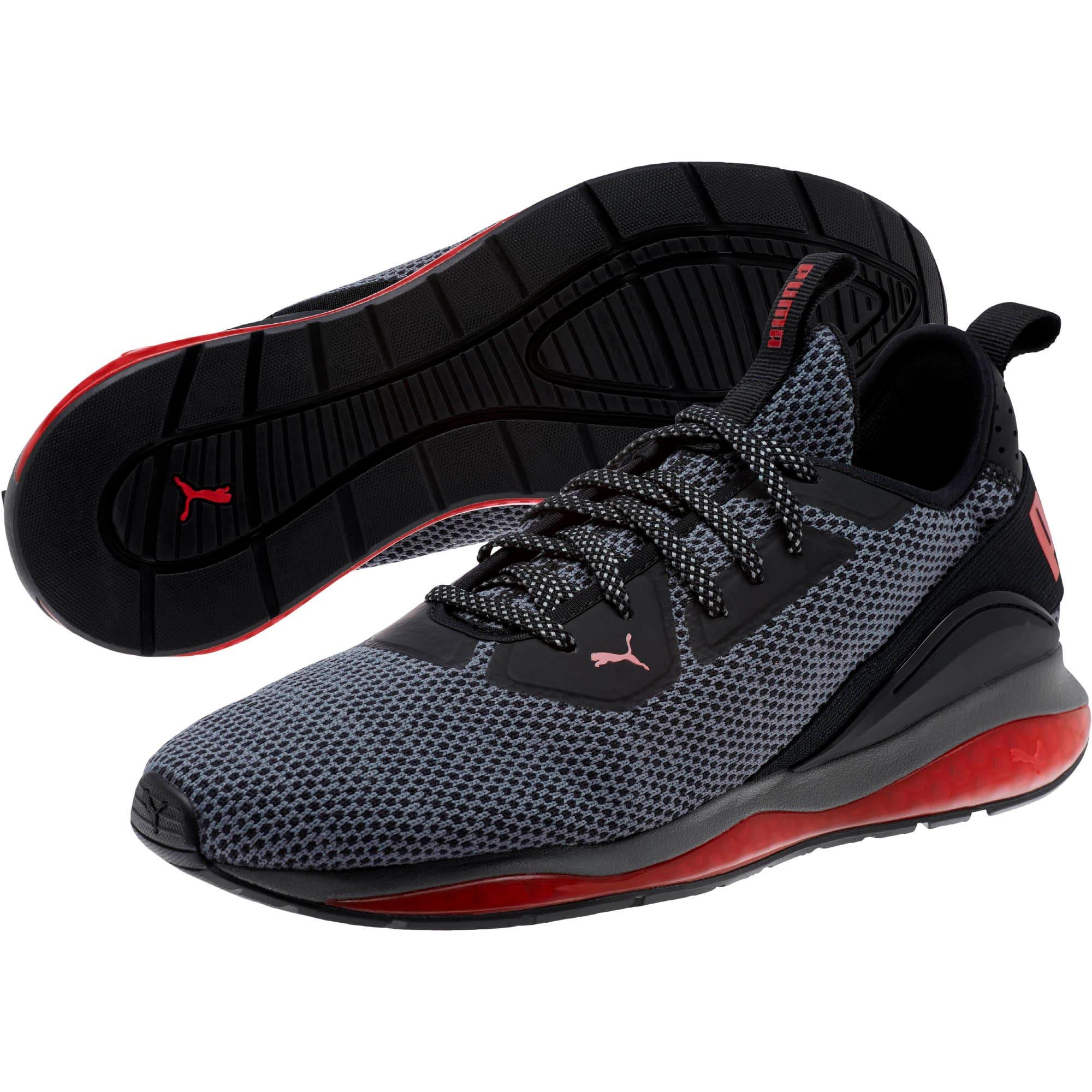 Thumbnail 2 of Cell Descend Men's Running Shoes, Pma Blk-Rbn Rd-Pma Agd Slvr, medium