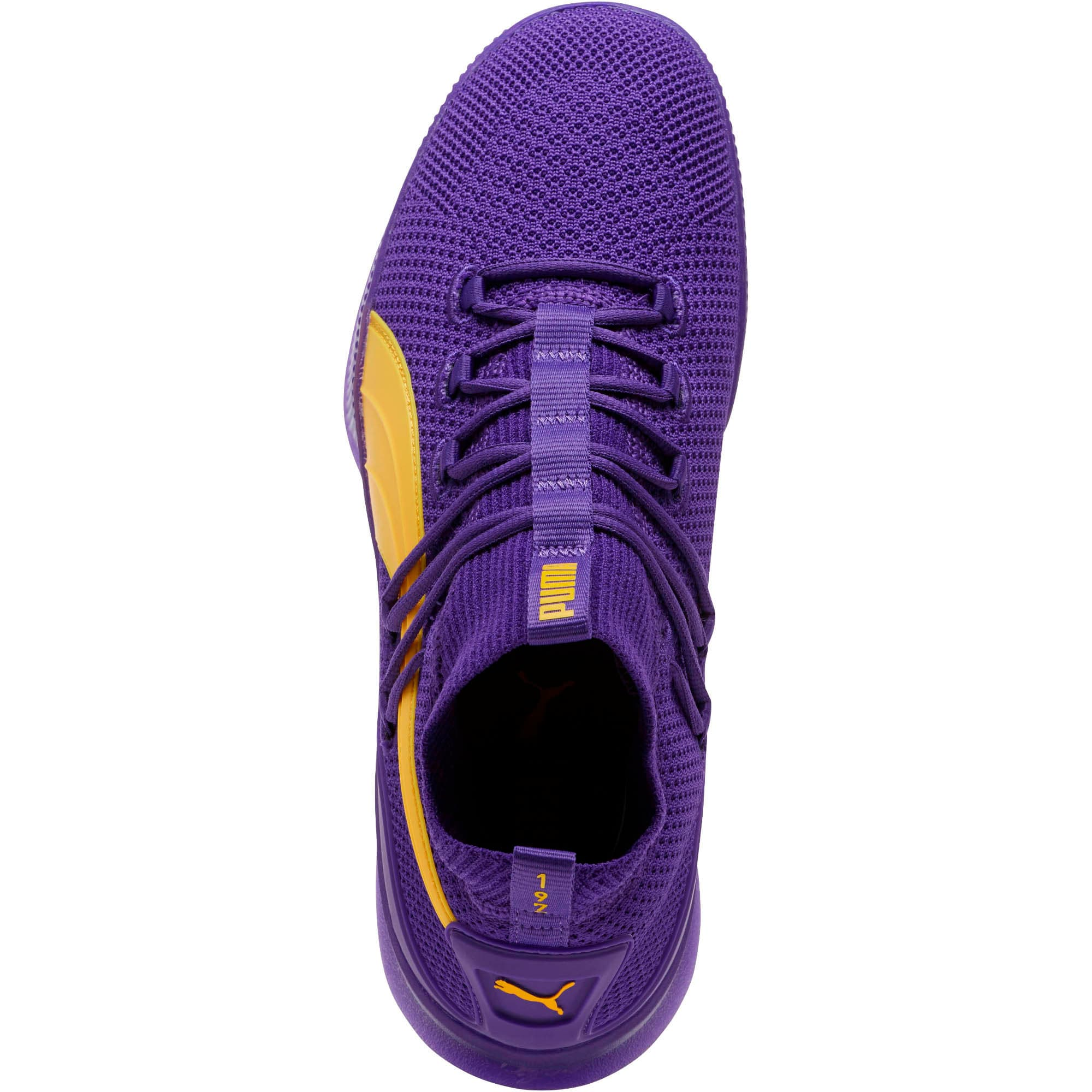 Thumbnail 5 of Clyde Court Core Basketball Shoes, Prism Violet, medium