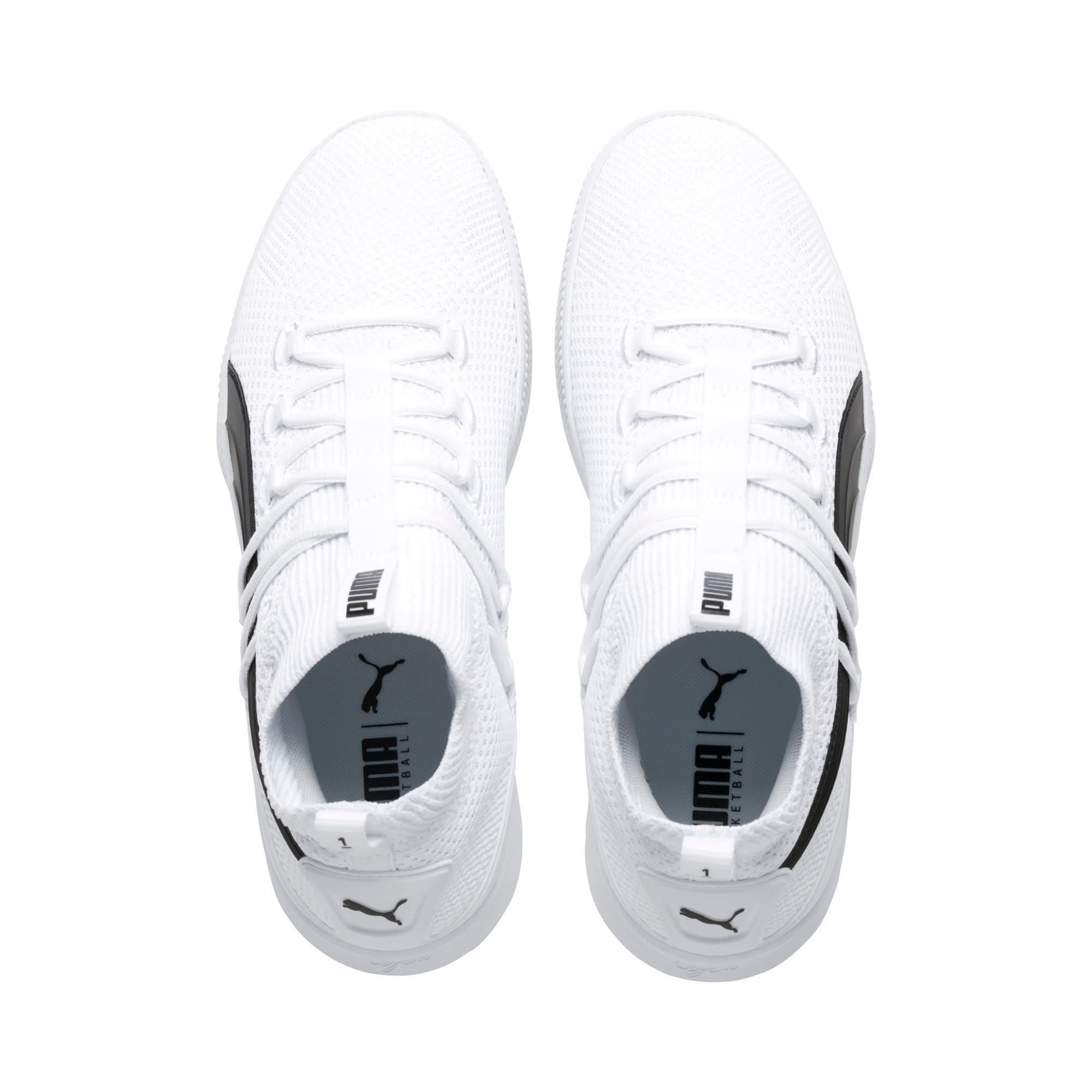 Thumbnail 6 of Clyde Court Core Basketball Shoes, Puma White, medium