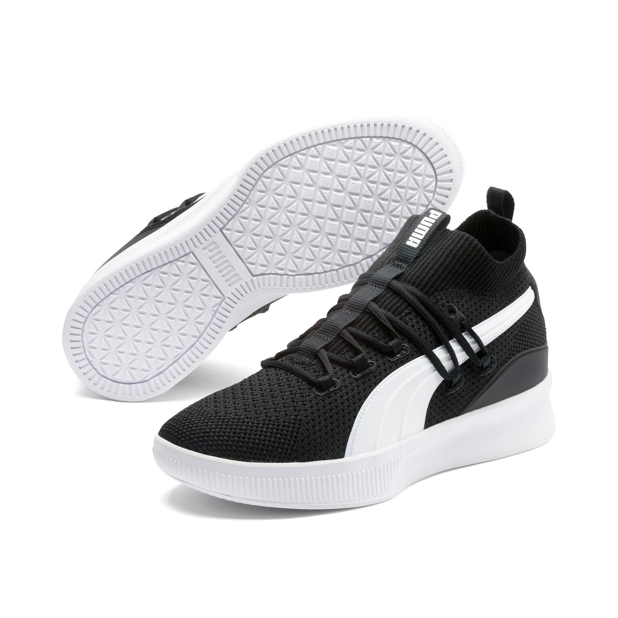 Imagen en miniatura 2 de Zapatillas de baloncesto Clyde Court, Puma Black, mediana