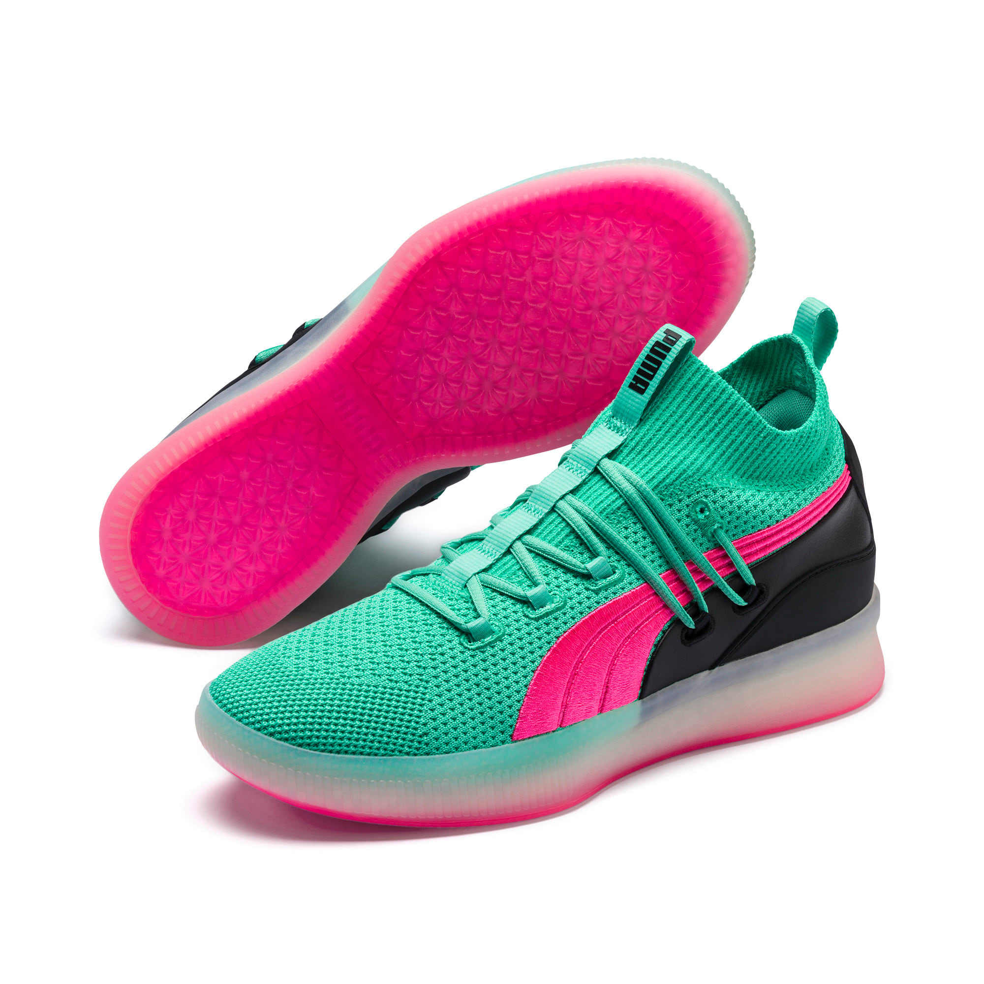 Thumbnail 2 of Clyde Court Basketball Shoes, Biscay Green, medium