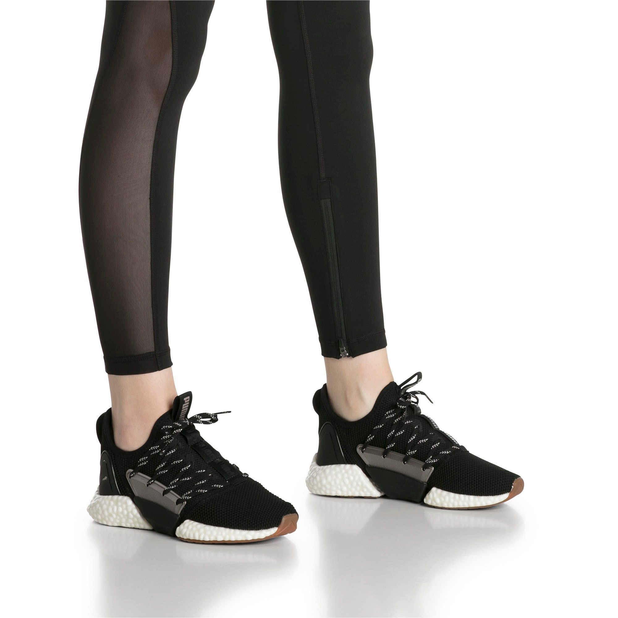 Thumbnail 8 of HYBRID Rocket Luxe Women's Running Shoes, Puma Black-Puma Black, medium