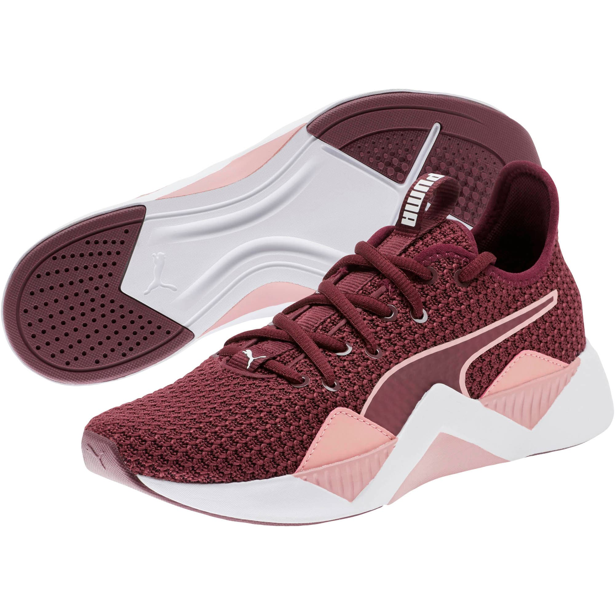 Thumbnail 2 of Incite FS Women's Training Shoes, Wine-Bridal Rose-White, medium