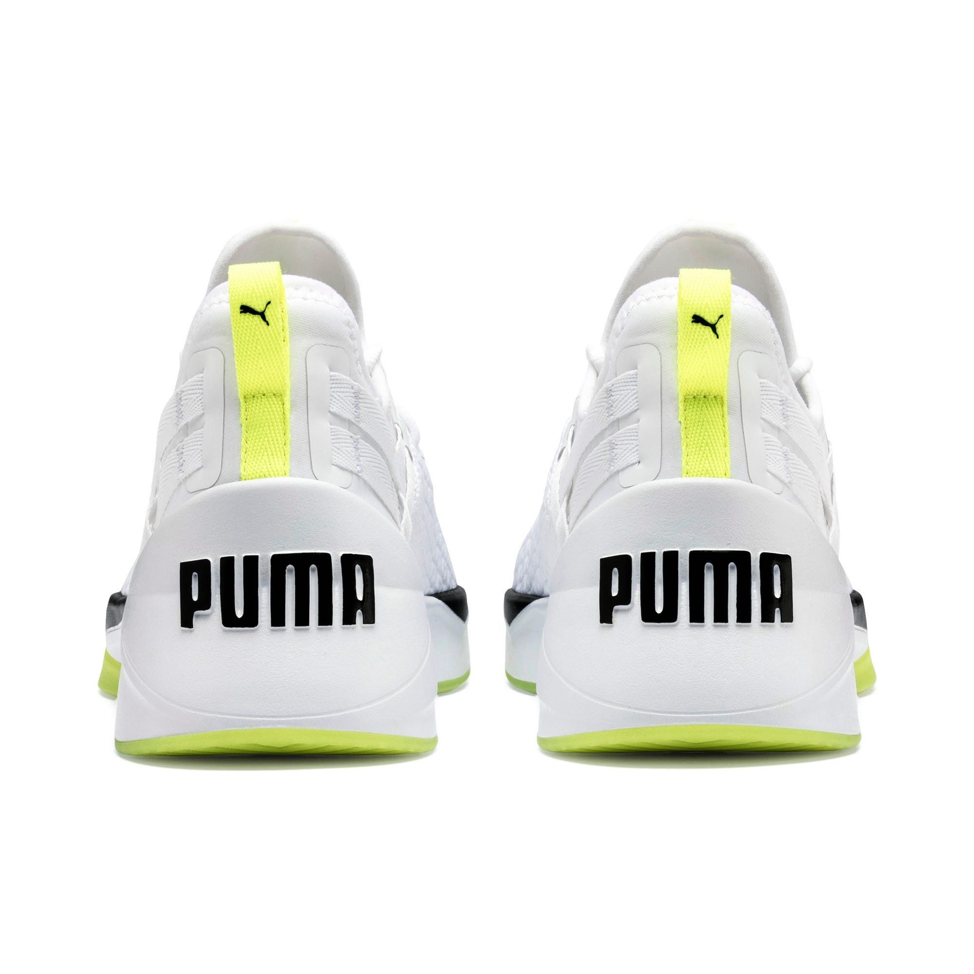 Jaab XT Damen Trainingsschuhe, Puma White-Yellow Alert, large