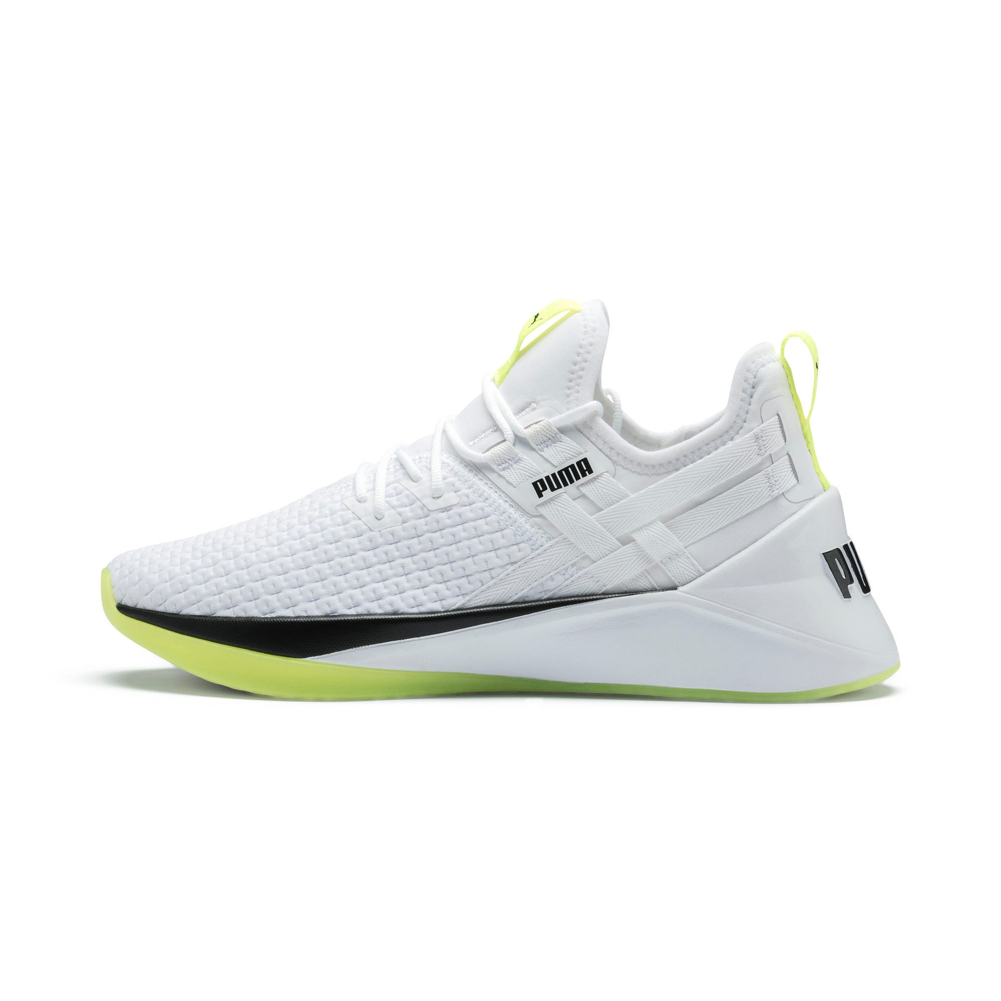 Thumbnail 1 of Jaab XT Damen Trainingsschuhe, Puma White-Yellow Alert, medium
