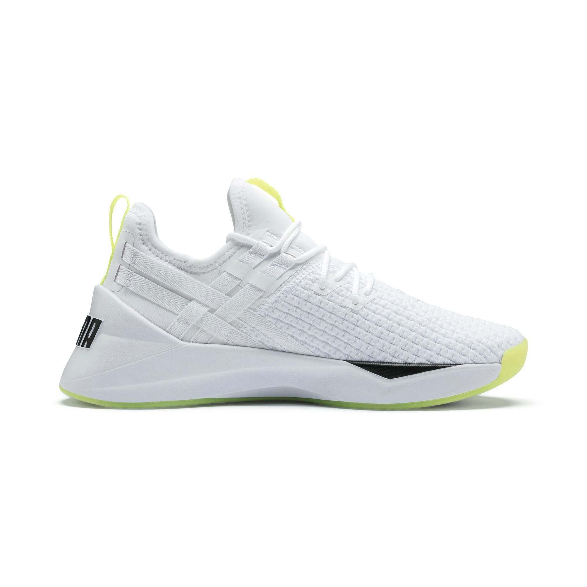 Thumbnail 6 of Jaab XT Damen Trainingsschuhe, Puma White-Yellow Alert, medium