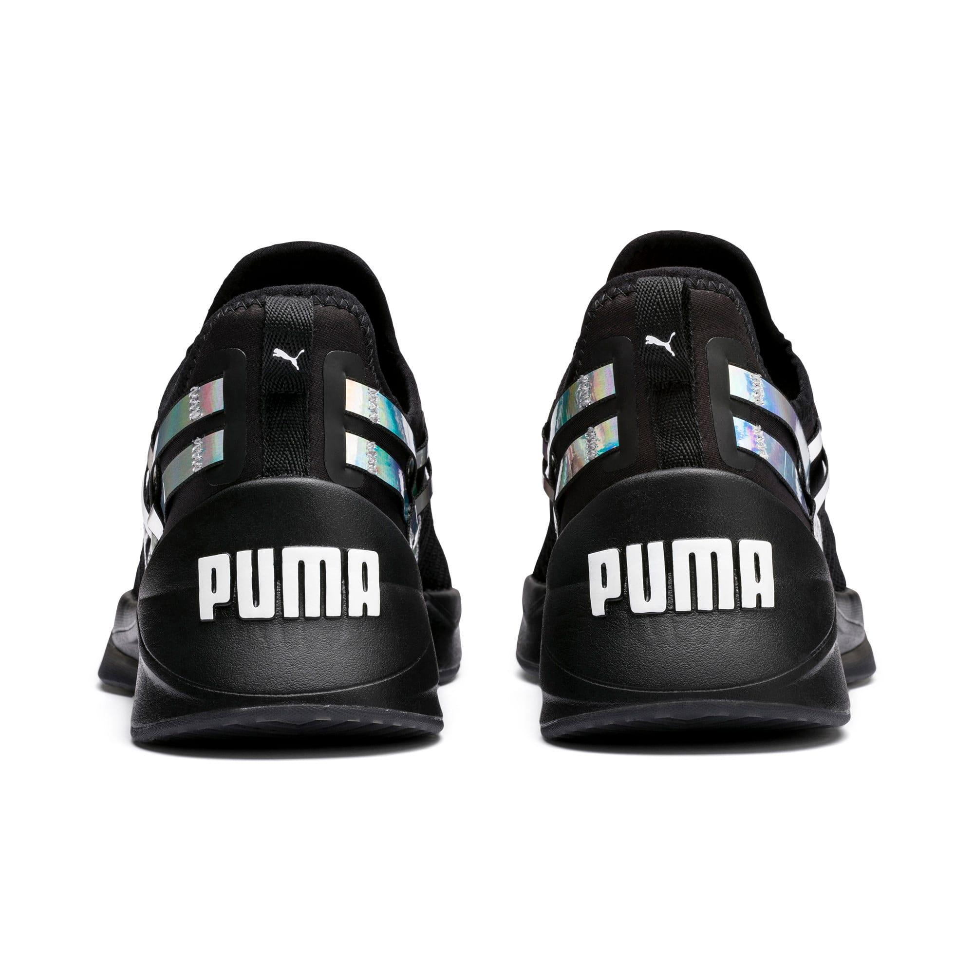 Thumbnail 4 of Jaab XT Iridescent TZ Damen Trainingsschuhe, Puma Black-Puma Black, medium