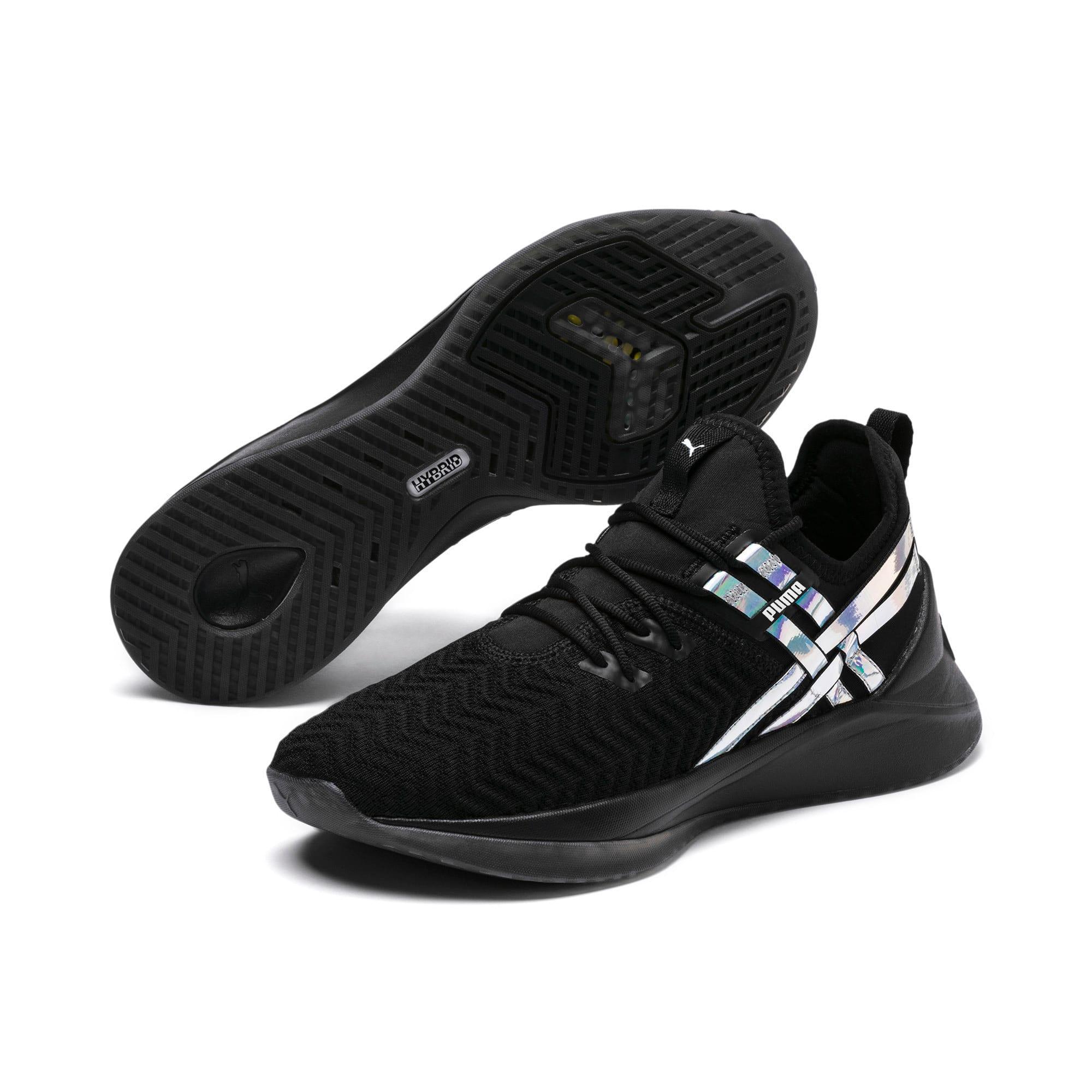 Thumbnail 3 of Jaab XT Iridescent TZ Damen Trainingsschuhe, Puma Black-Puma Black, medium
