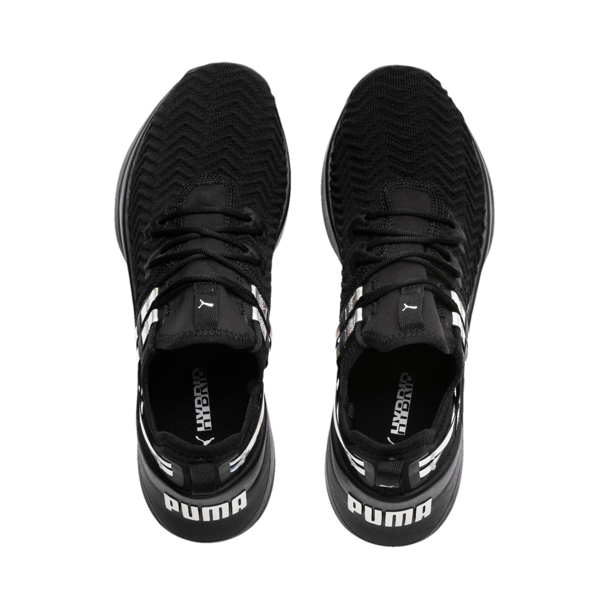 Thumbnail 7 of Jaab XT Iridescent TZ Damen Trainingsschuhe, Puma Black-Puma Black, medium