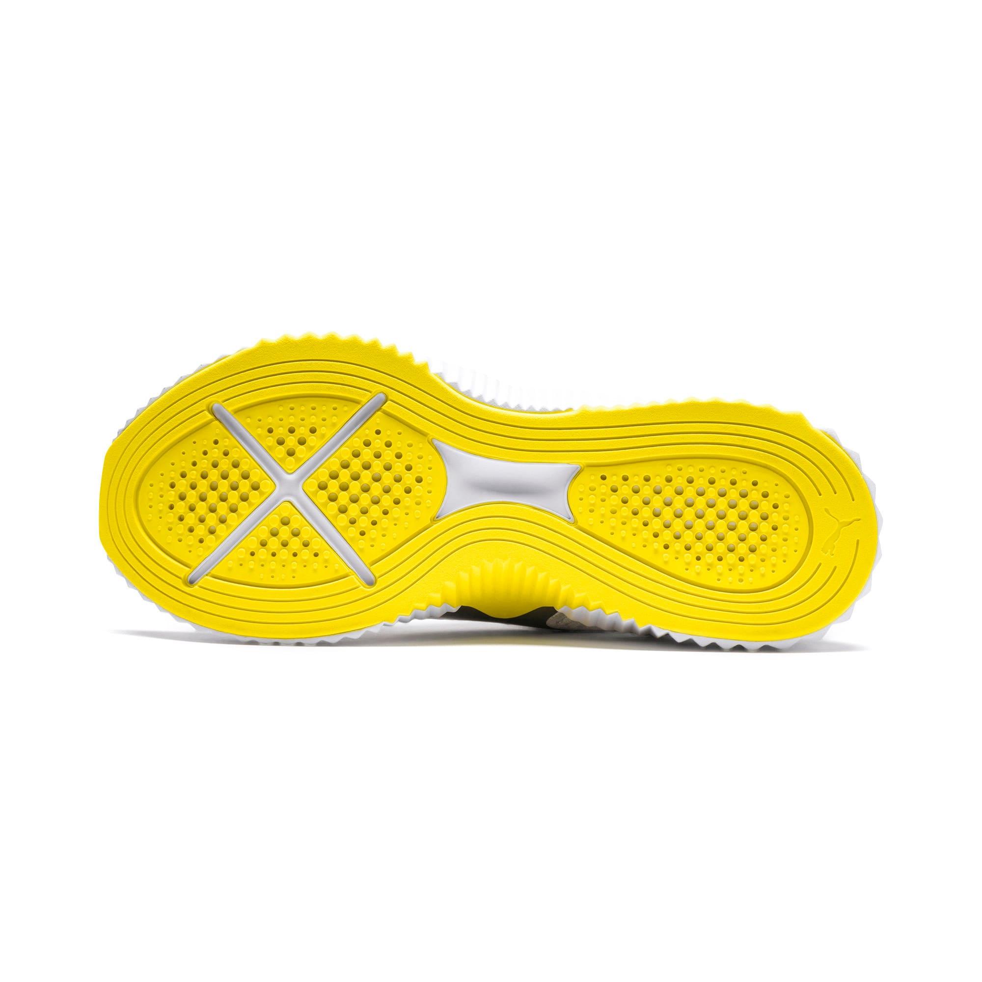 Thumbnail 5 of Defy Trailblazer Women's Training Shoes, Puma White-Blazing Yellow, medium